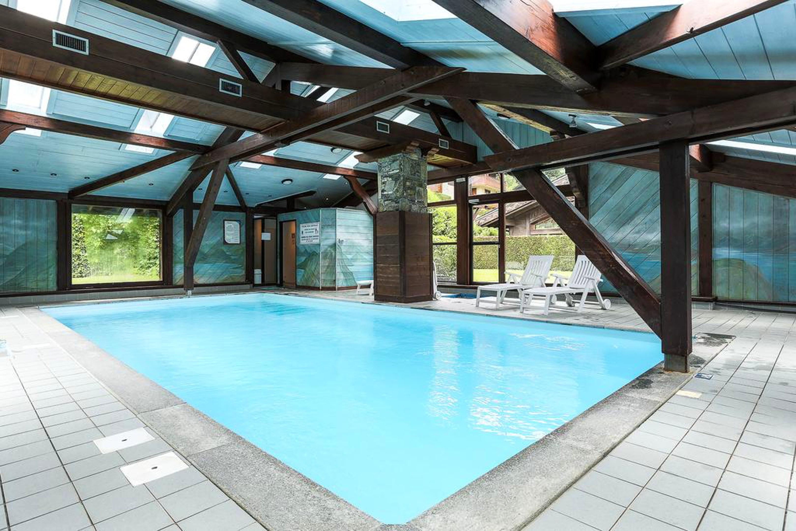 Ferienwohnung Wohnung mit einem Schlafzimmer in Les Houches mit toller Aussicht auf die Berge, Pool und  (2591443), Les Houches, Hochsavoyen, Rhône-Alpen, Frankreich, Bild 3