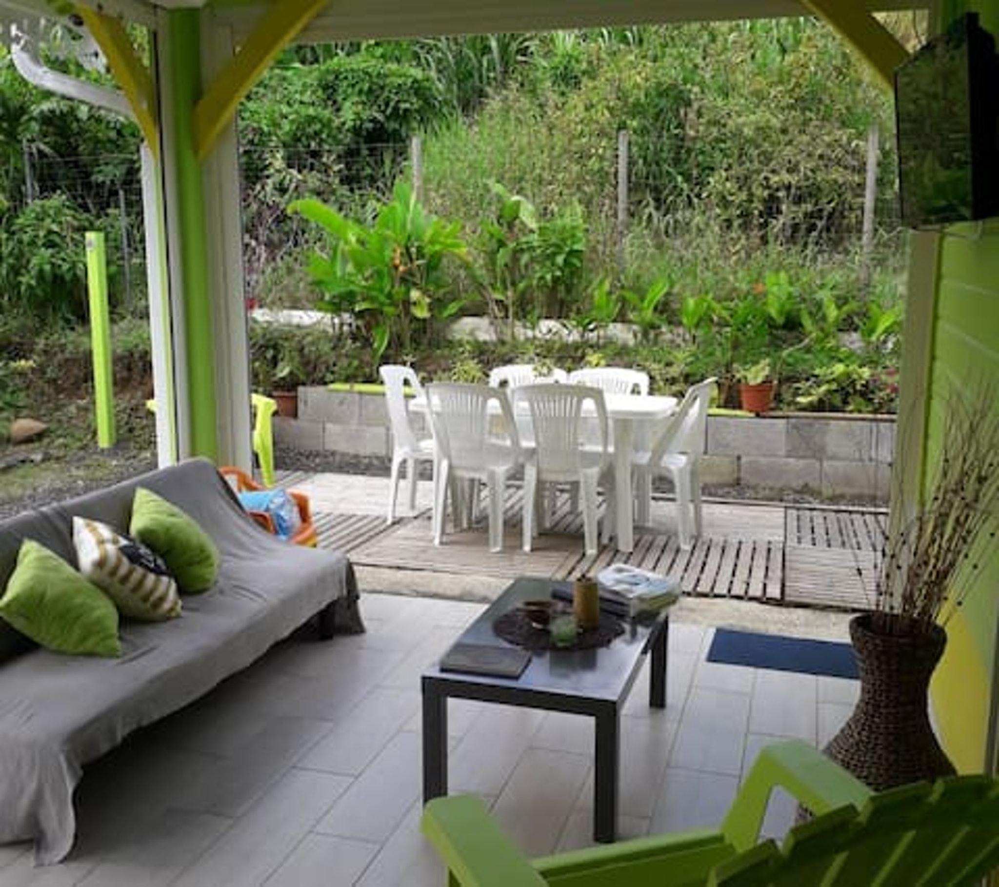 Villa mit 2 Schlafzimmern in Sainte-Luce mit priva Bungalow
