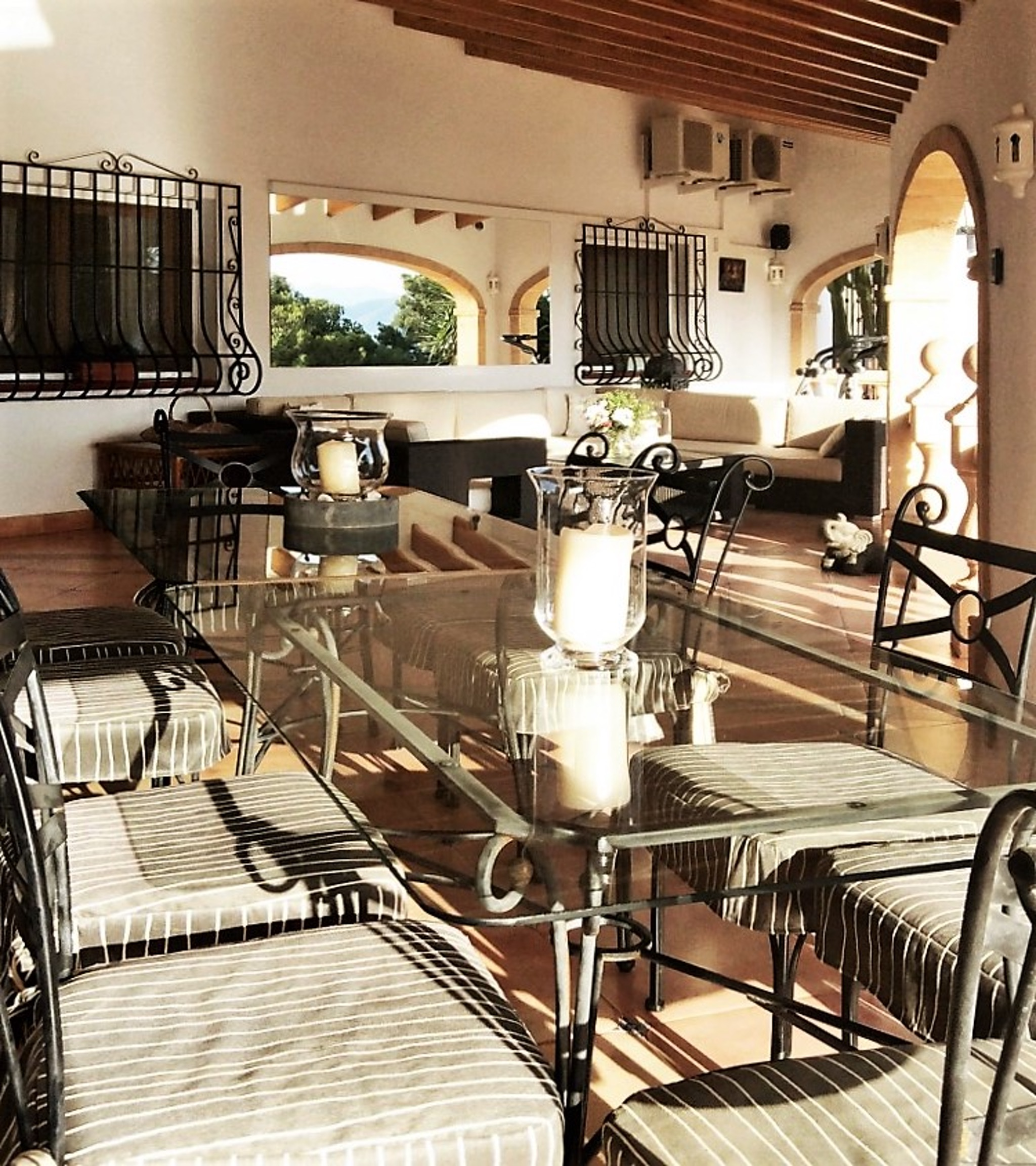 Ferienhaus Geräumige Villa mit fünf Schlafzimmer in Javea mit möblierter Terrasse, Pool und toller Au (2201168), Jávea, Costa Blanca, Valencia, Spanien, Bild 16
