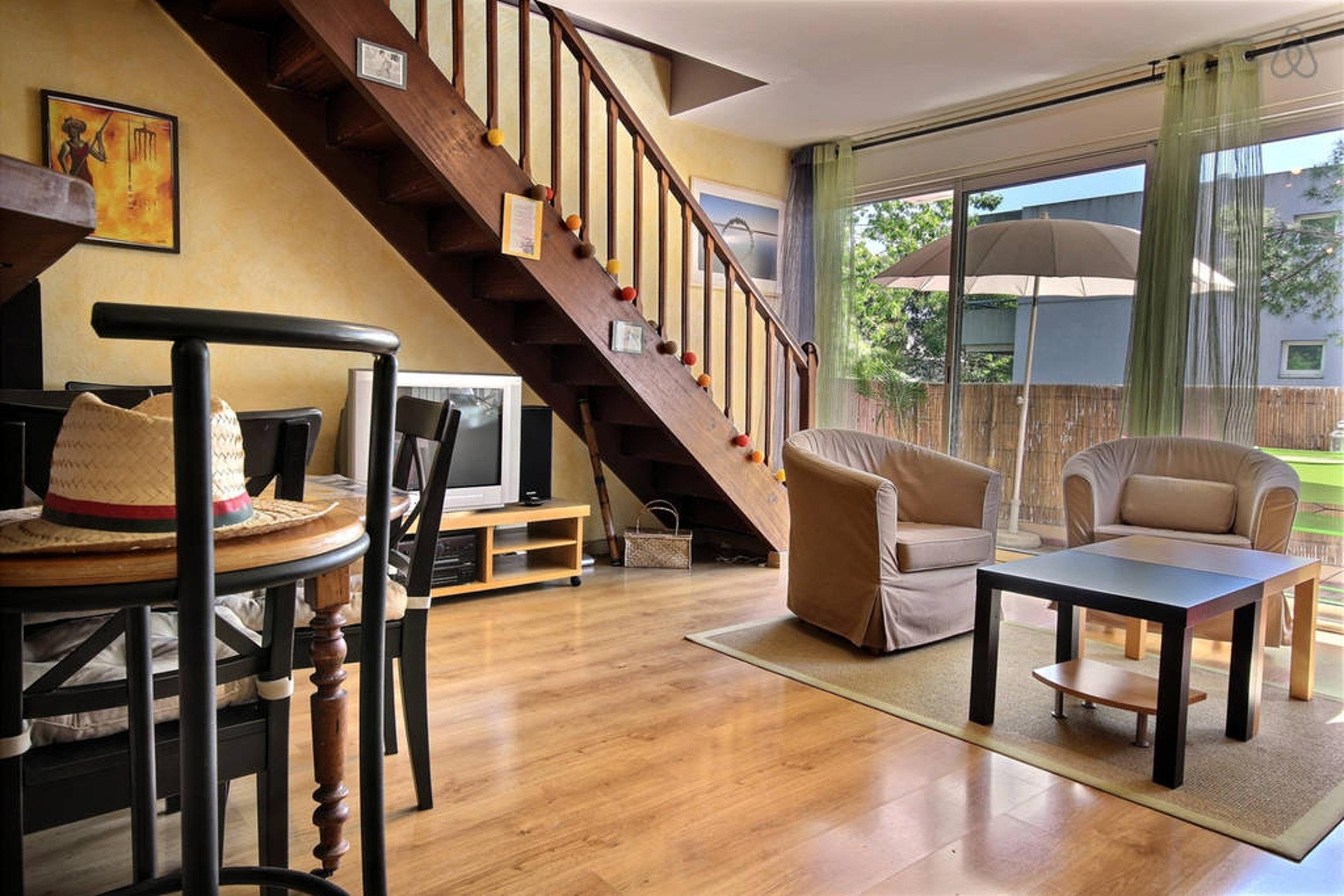 Ferienwohnung Wohnung mit 2 Zimmern in Montpellier mit möblierter Terrasse und W-LAN - 15 km vom Strand  (2351209), Montpellier, Mittelmeerküste Hérault, Languedoc-Roussillon, Frankreich, Bild 2