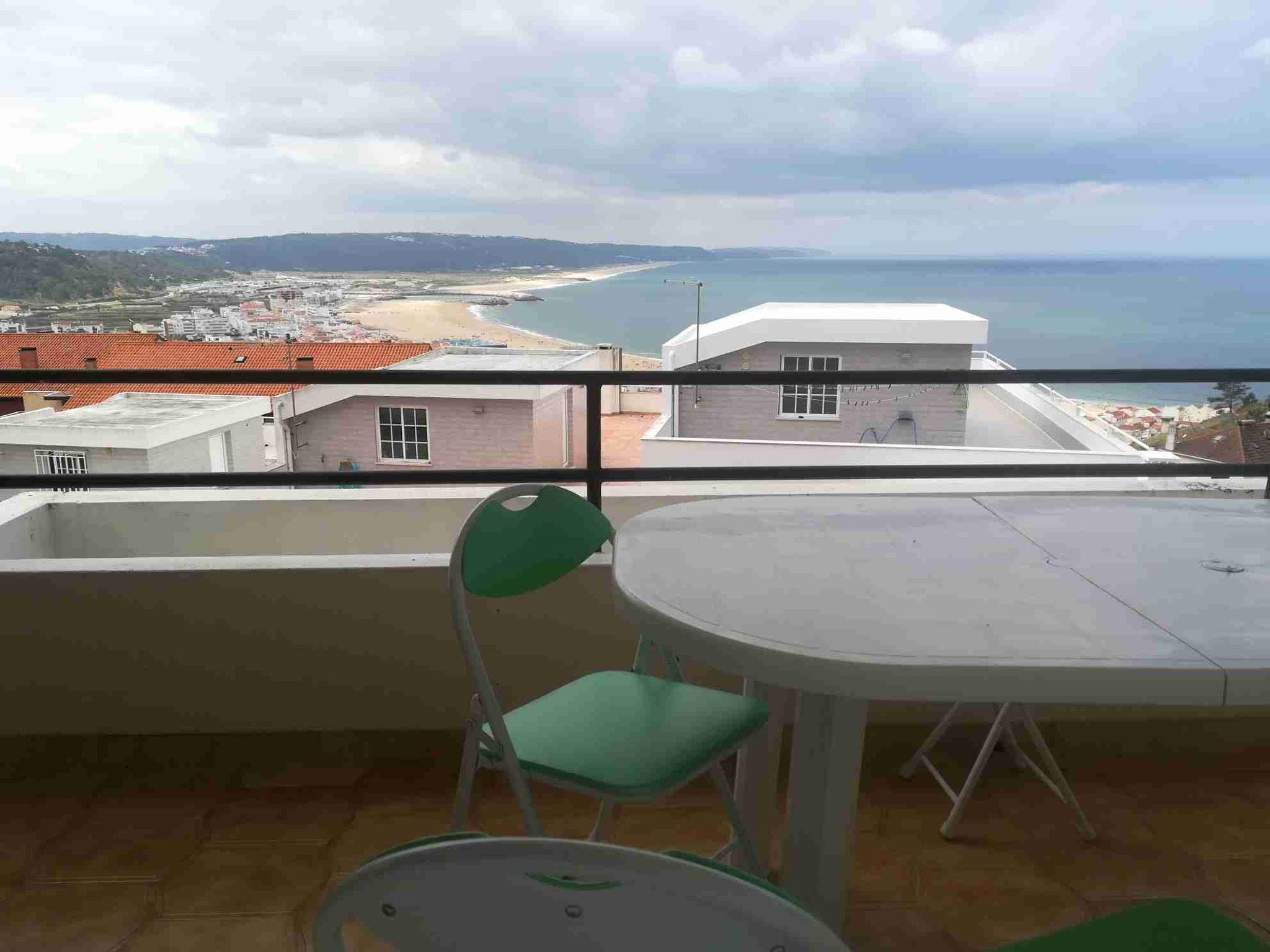 Holiday apartment Wohnung mit 3 Schlafzimmern in Nazaré mit herrlichem Meerblick und möblierter Terrasse (2639548), Nazaré, Costa de Prata, Central-Portugal, Portugal, picture 1
