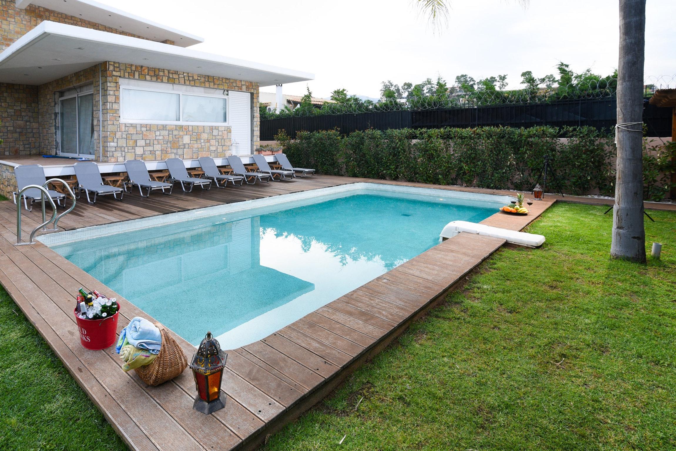 Holiday house Villa mit 5 Schlafzimmern in Kitsi mit privatem Pool, eingezäuntem Garten und W-LAN (2339398), Koropion, , Attica, Greece, picture 1
