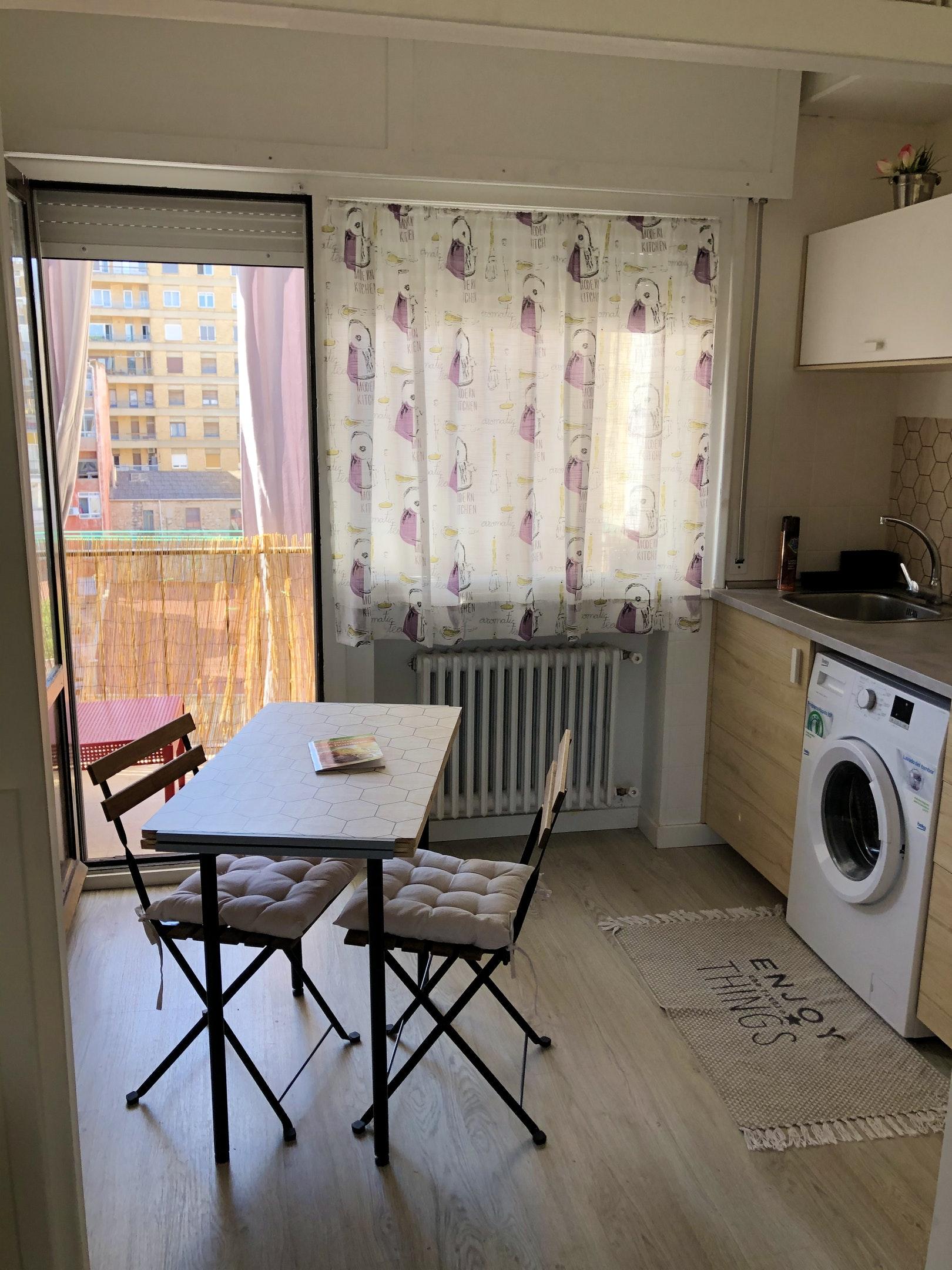 Ferienwohnung Wohnung mit 2 Schlafzimmern in Tudela mit schöner Aussicht auf die Stadt, möblierter Terra (2708241), Tudela, , Navarra, Spanien, Bild 58