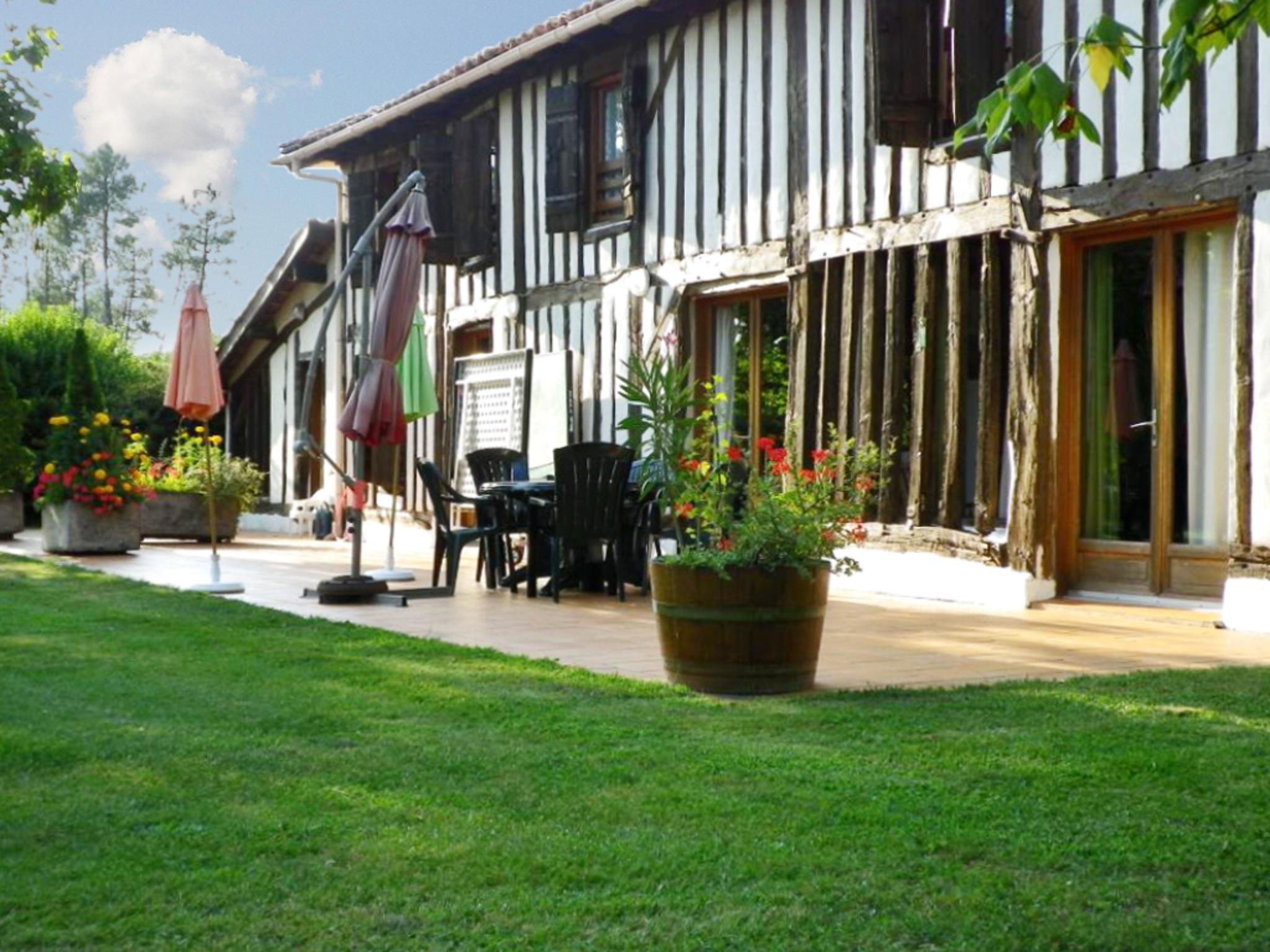 Ferienhaus Villa mit 4 Zimmern in Trensacq mit privatem Pool und möbliertem Garten - 45 km vom Strand (2202366), Trensacq, Landes, Aquitanien, Frankreich, Bild 4