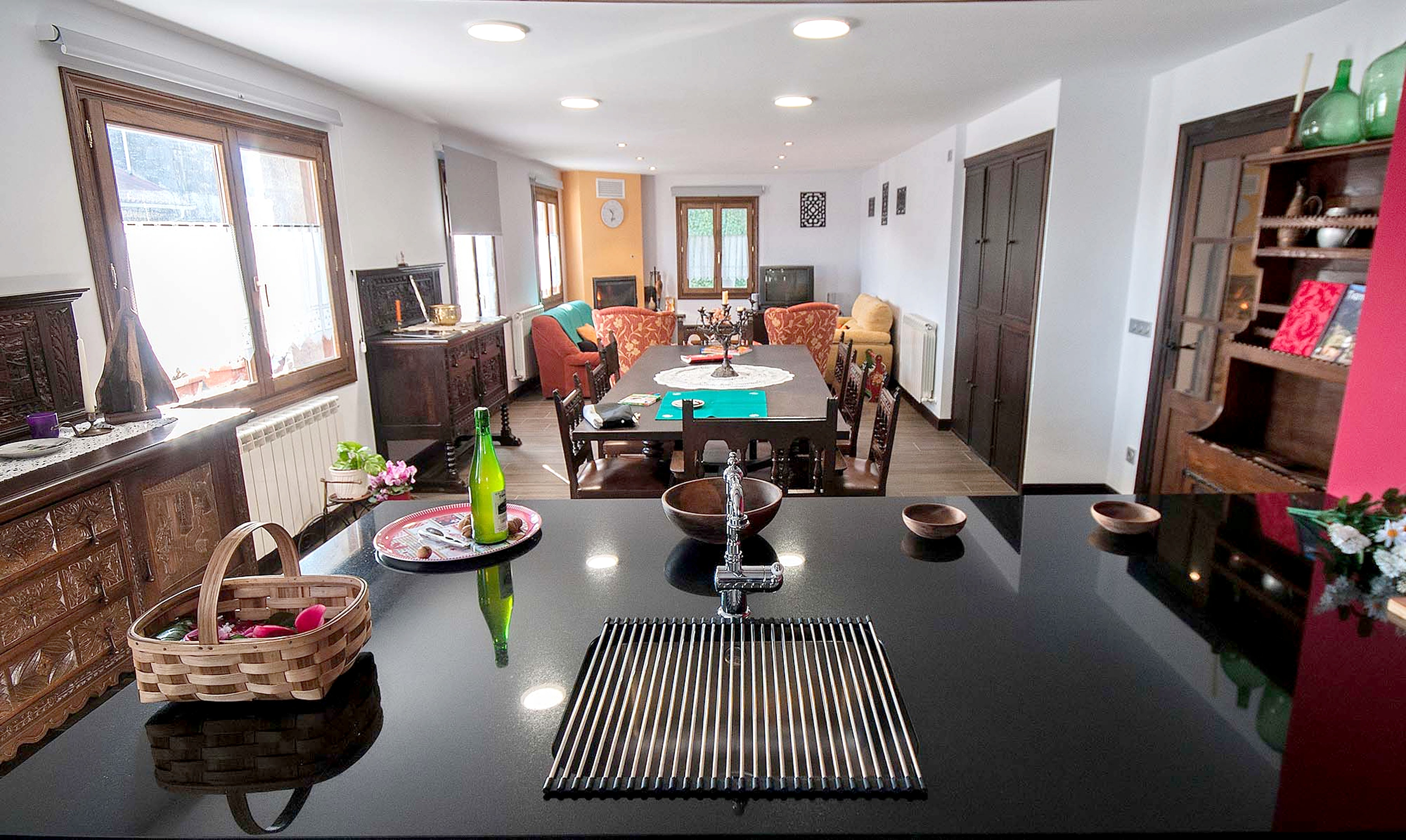 Ferienhaus Haus mit 5 Schlafzimmern in Baráibar mit toller Aussicht auf die Berge, möbliertem Garten  (2541138), Baraibar, , Navarra, Spanien, Bild 3