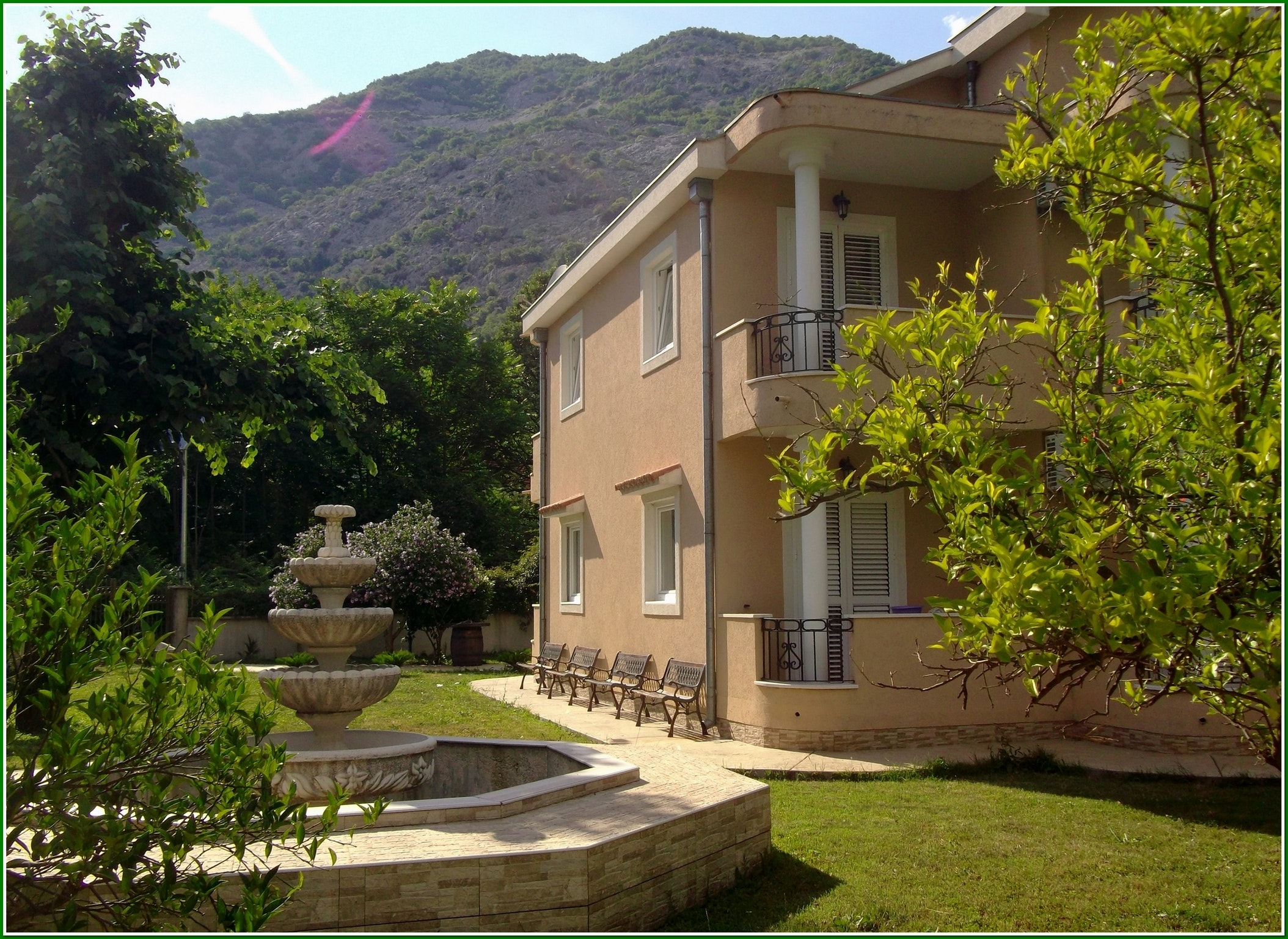 Apartment with 2 bedrooms in Risan, with wonderful mountain view ...