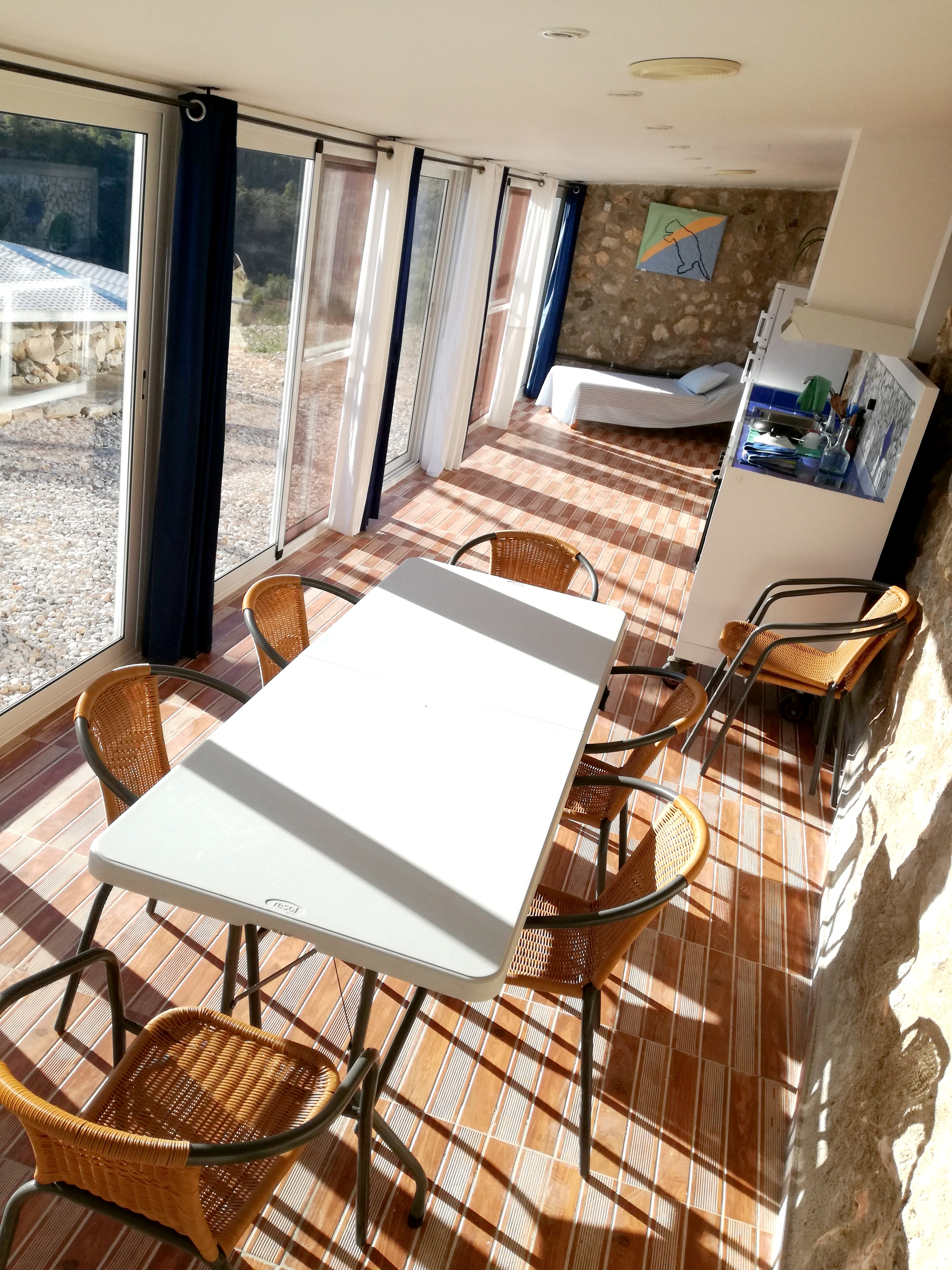 Ferienhaus Haus mit 3 Schlafzimmern in Rossell mit herrlichem Meerblick und eingezäuntem Garten - 35  (2202082), Rossell, Provinz Castellón, Valencia, Spanien, Bild 3
