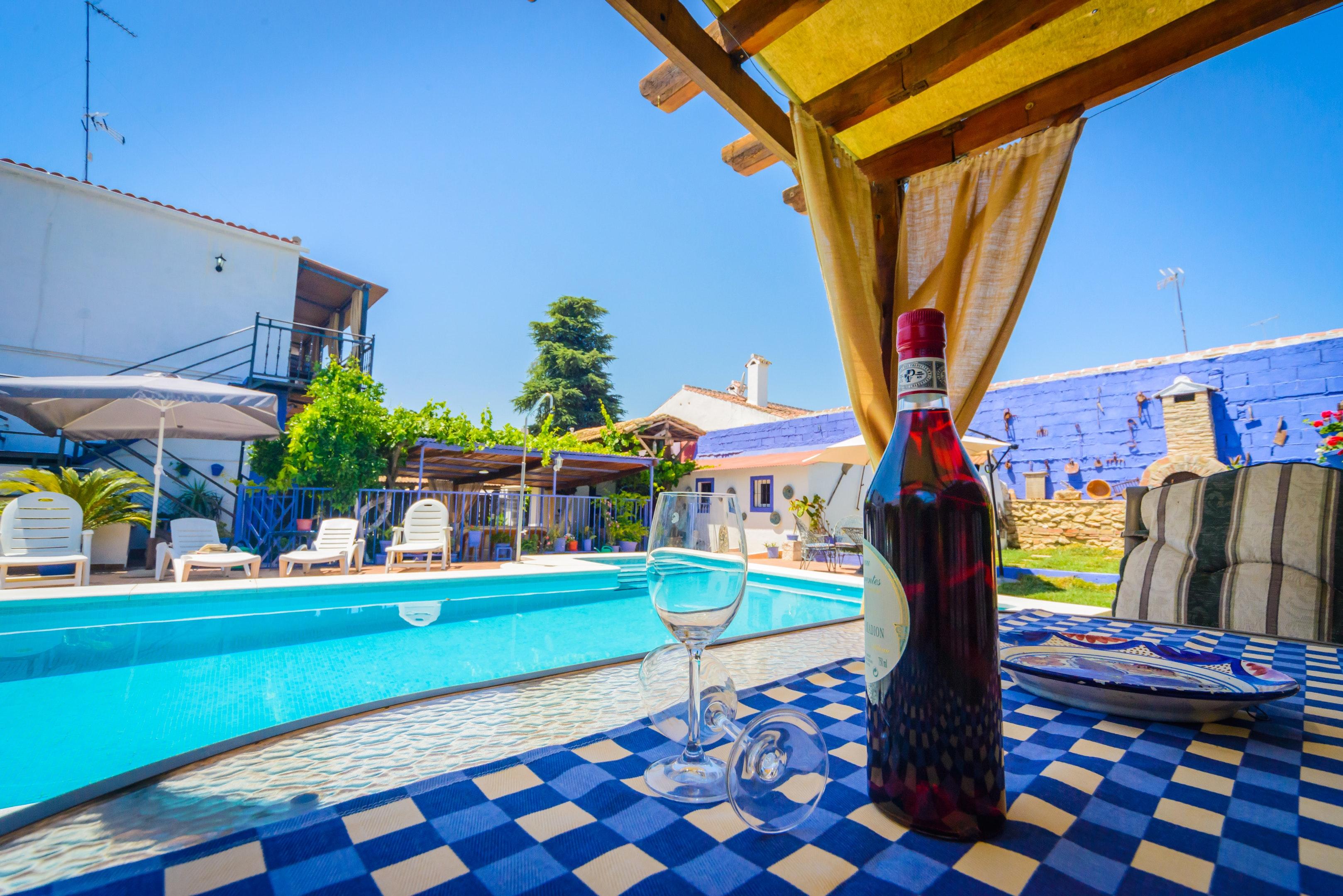 Ferienhaus Villa mit 3 Schlafzimmern in Peñaflor mit privatem Pool, eingezäuntem Garten und W-LAN (2208249), Peñaflor, Sevilla, Andalusien, Spanien, Bild 3