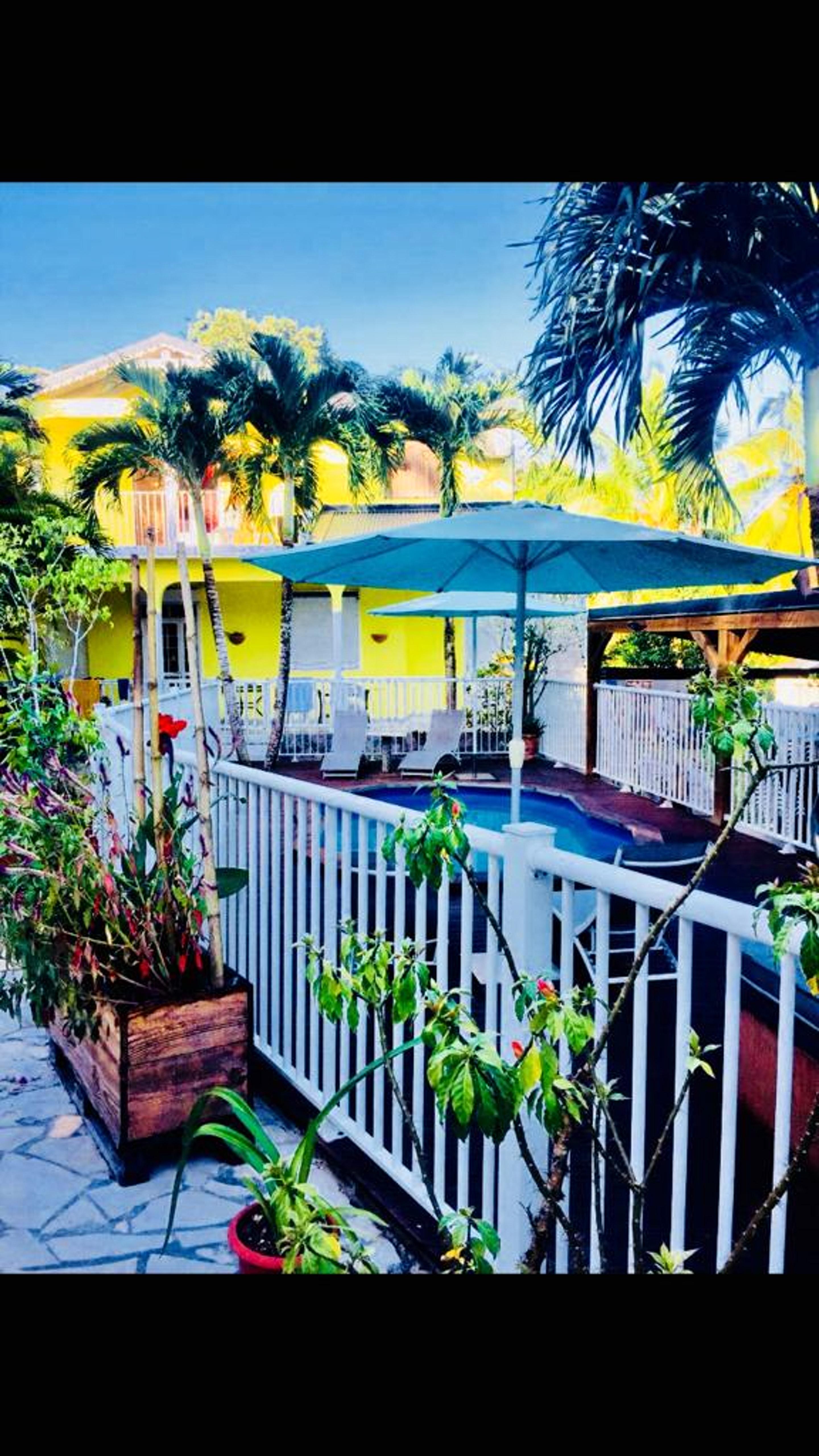 Wohnung mit einem Schlafzimmer in Sainte rose mit  Ferienwohnung in Guadeloupe