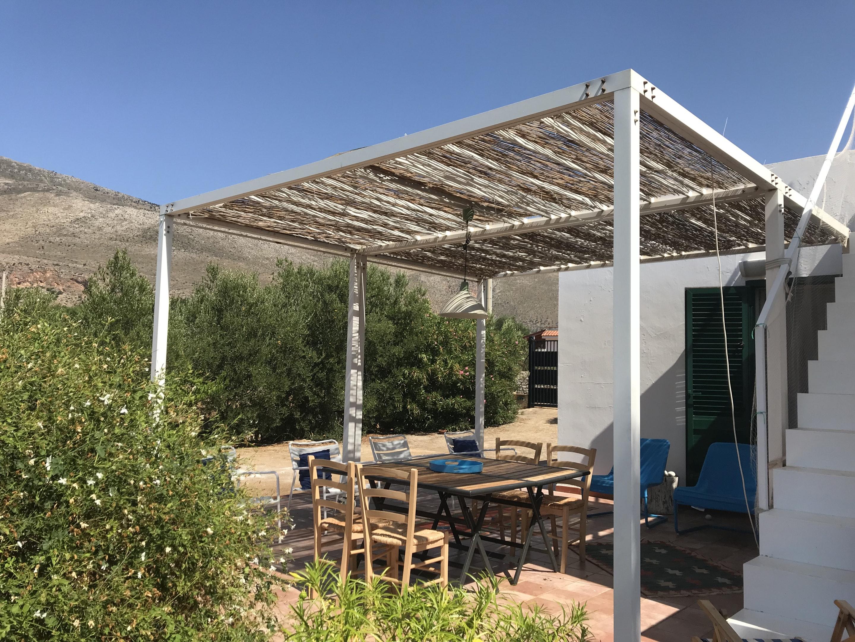 Villa mit 2 Schlafzimmern in San Vito Lo Capo mit herrlichem Meerblick eingezäuntem Garten und W LAN