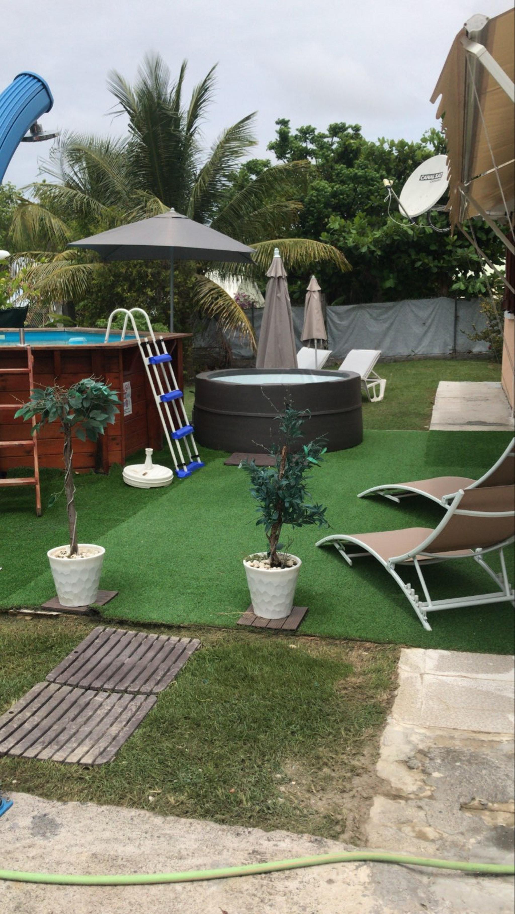 Villa mit 3 Schlafzimmern in Sainte Anne mit priva Villa in Guadeloupe