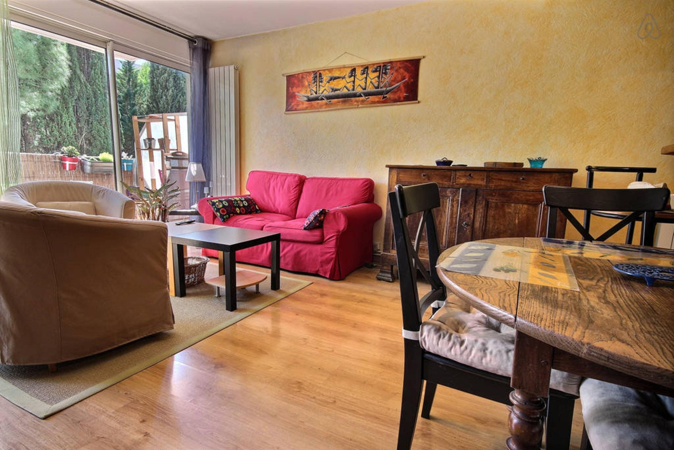 Ferienwohnung Wohnung mit 2 Zimmern in Montpellier mit möblierter Terrasse und W-LAN - 15 km vom Strand  (2351209), Montpellier, Mittelmeerküste Hérault, Languedoc-Roussillon, Frankreich, Bild 3