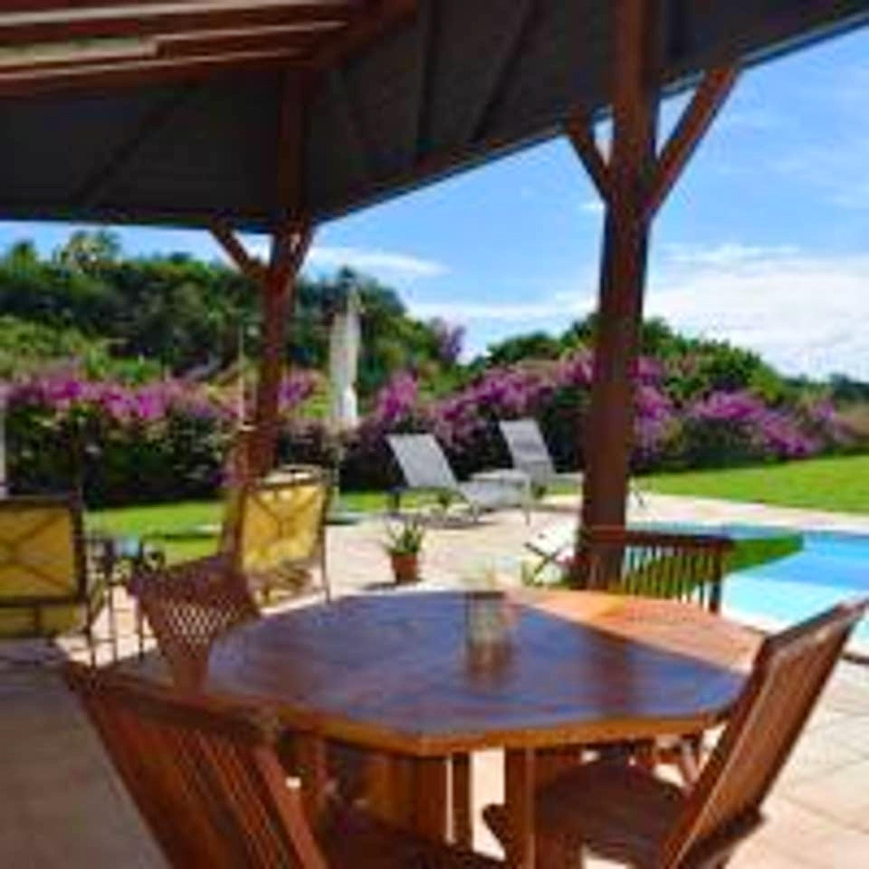 Villa mit einem Schlafzimmer in Le Gosier mit priv Villa in Guadeloupe