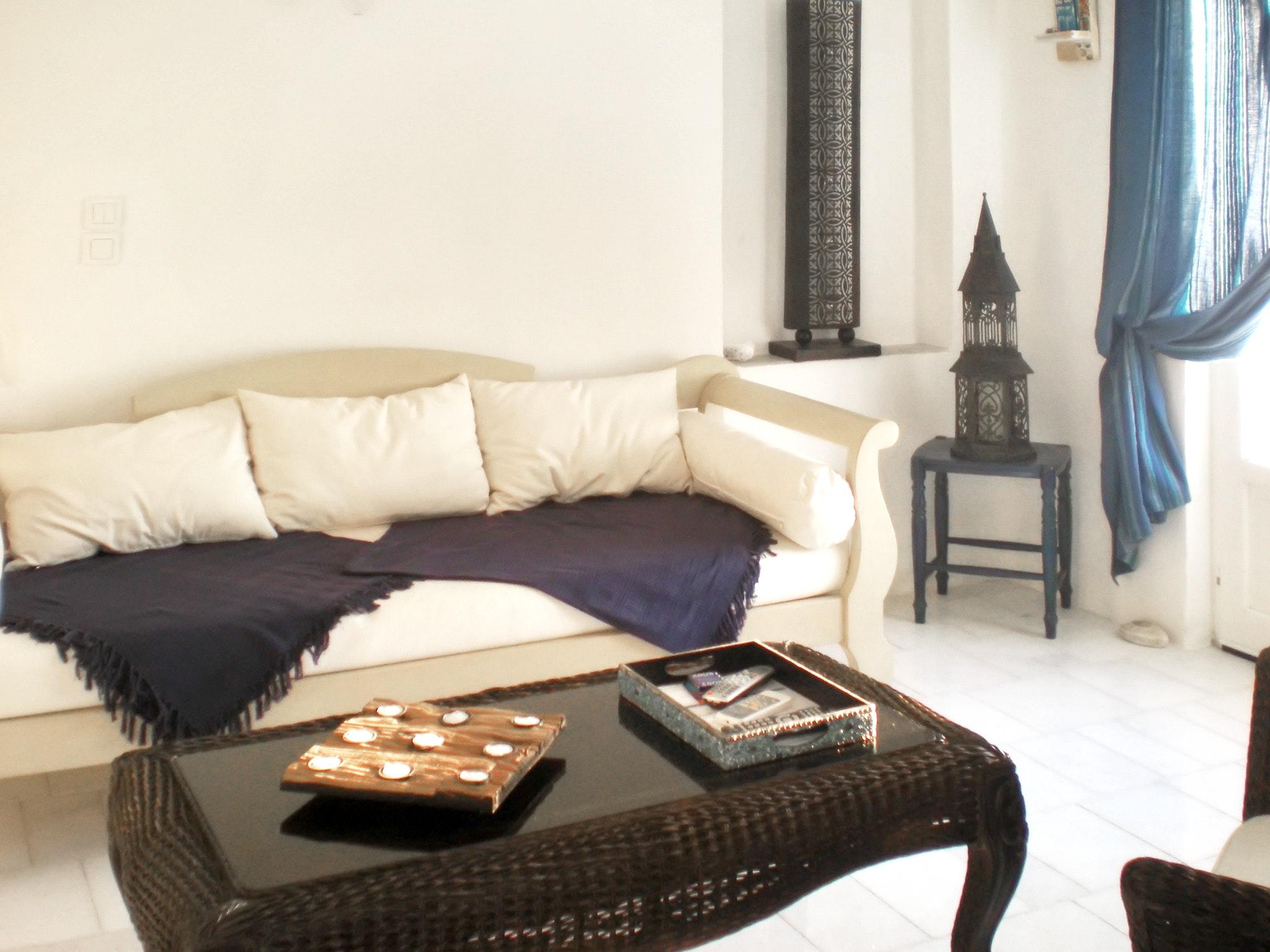 Ferienhaus Villa im Kykladen-Stil auf Paros (Griechenland), mit 2 Schlafzimmern, Gemeinschaftspool &  (2201782), Paros, Paros, Kykladen, Griechenland, Bild 6