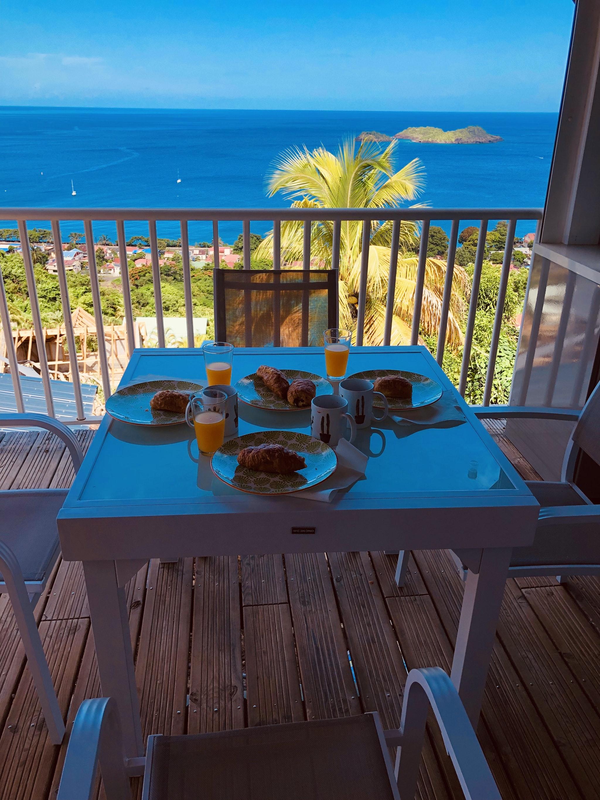 Haus mit 2 Schlafzimmern in Bouillante mit mö Ferienhaus in Guadeloupe