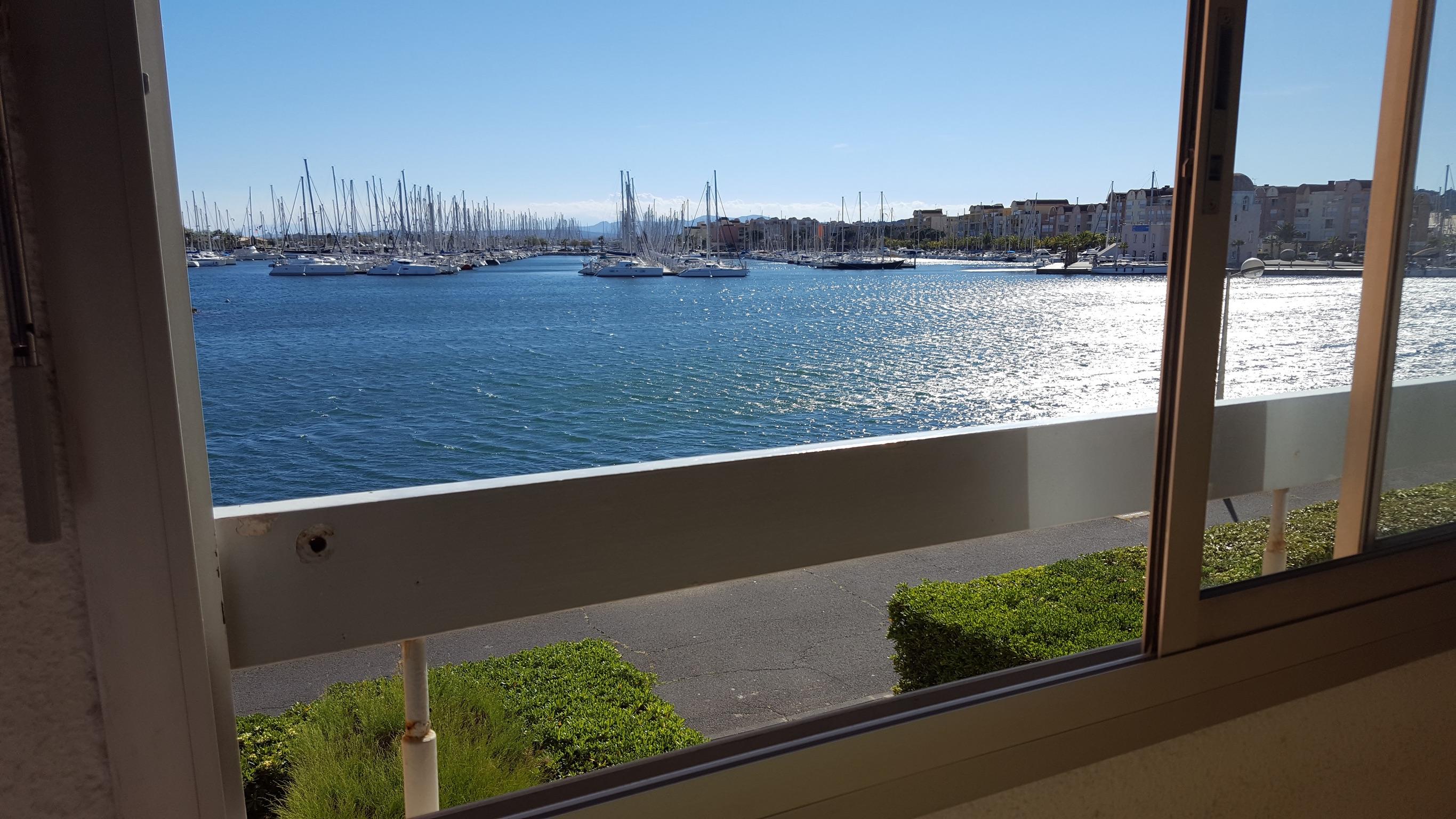 Ferienwohnung Wohnung mit einem Zimmer in Gruissan mit herrlichem Meerblick und W-LAN - 300 m vom Strand (2339647), Gruissan, Mittelmeerküste Aude, Languedoc-Roussillon, Frankreich, Bild 2