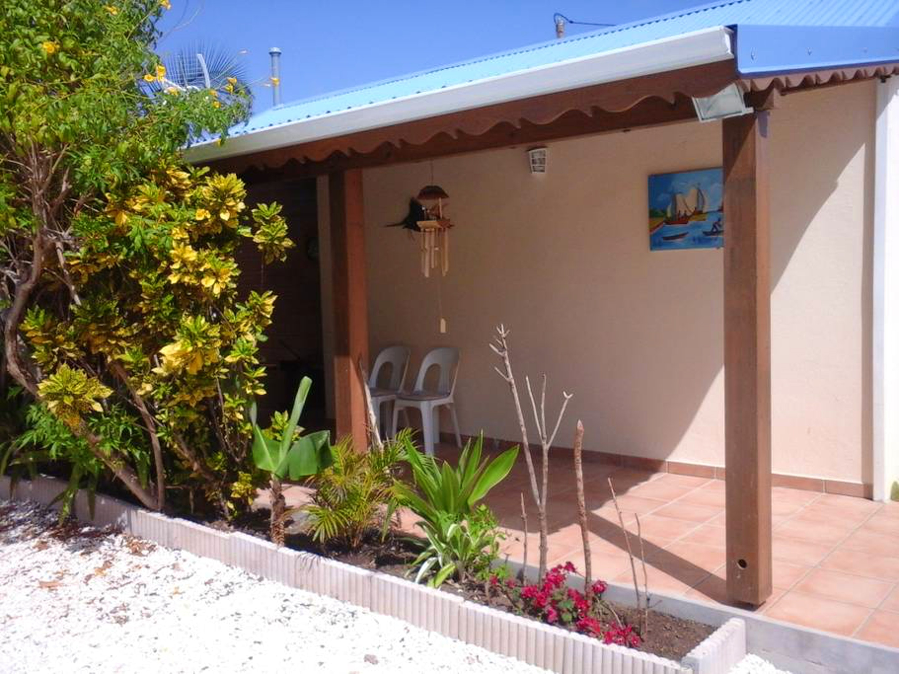 Bungalow mit einem Schlafzimmer in Saint-Francois  Hütte