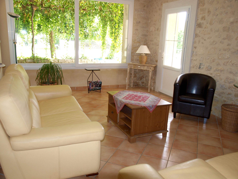 Holiday house Villa mit 4 Schlafzimmern in Caromb mit toller Aussicht auf die Berge, privatem Pool, eing (2437960), Caromb, Vaucluse, Provence - Alps - Côte d'Azur, France, picture 3