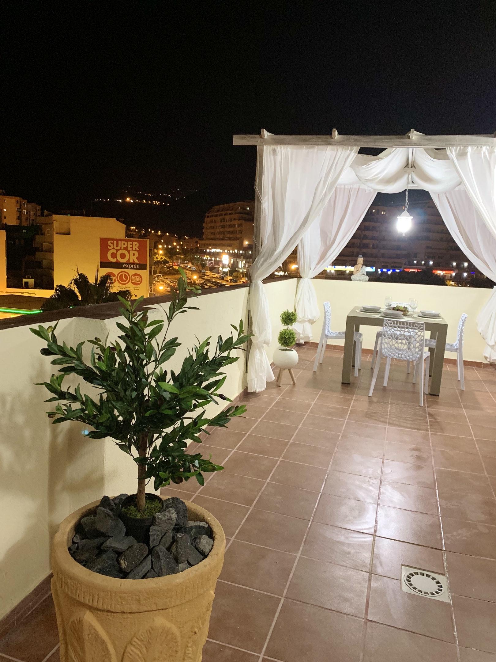 Appartement de vacances Wohnung mit 2 Schlafzimmern in Los Cristianos mit toller Aussicht auf die Berge, eingezäun (2202481), Los Cristianos, Ténérife, Iles Canaries, Espagne, image 21