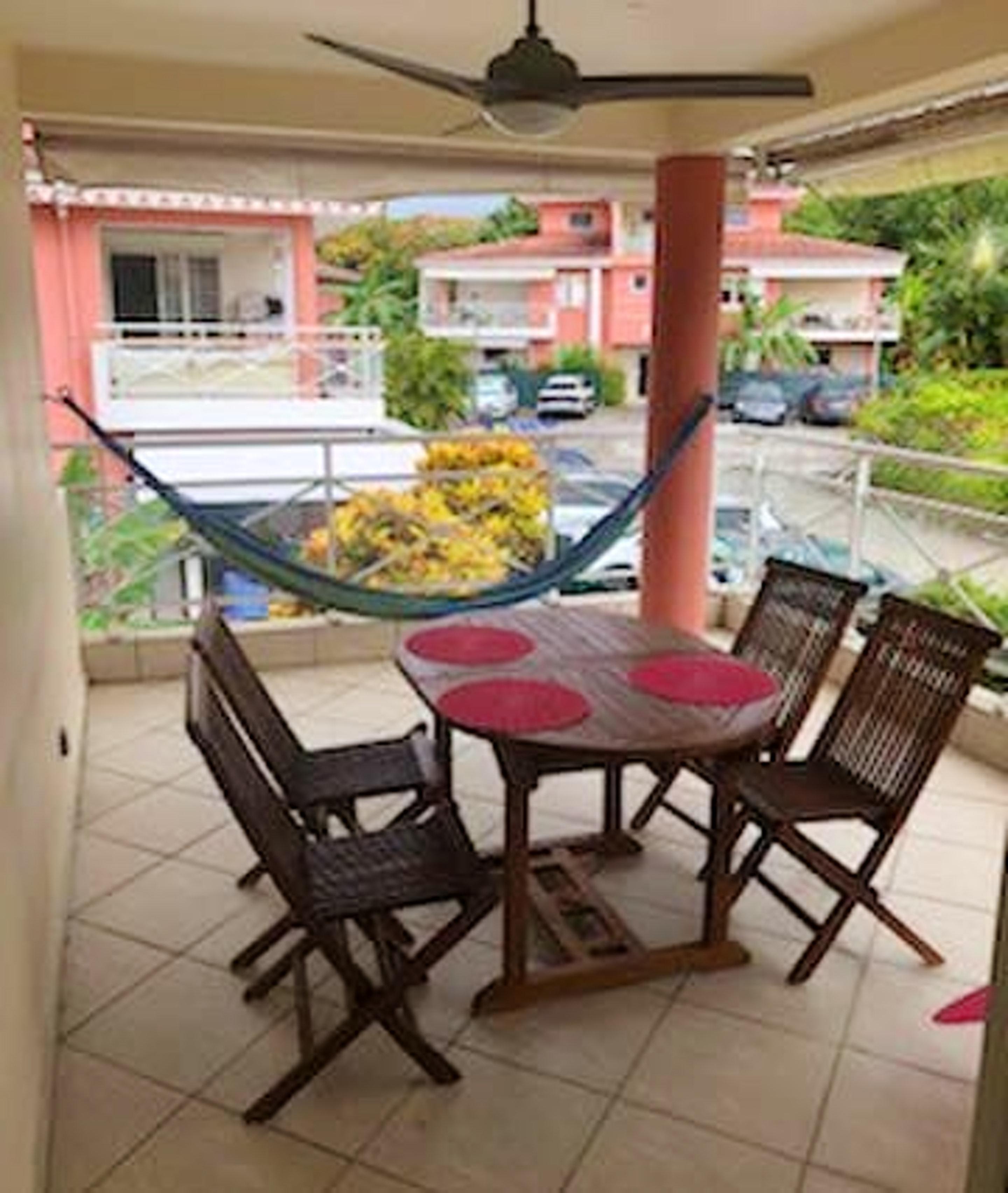 Wohnung mit 2 Schlafzimmern in Les Trois Ilets mit Pool, Terrasse und W-LAN - 300 m vom Strand entfernt