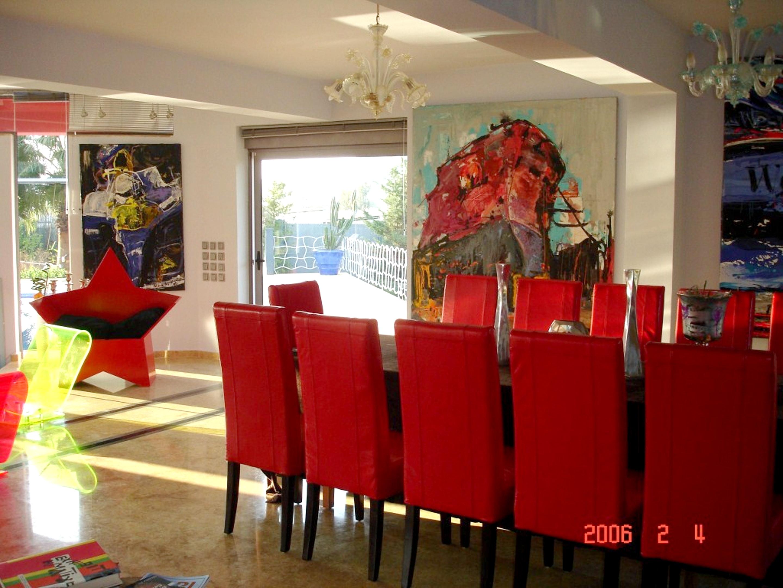 Ferienhaus Villa mit 4 Schlafzimmern in Eretria mit herrlichem Meerblick, privatem Pool, eingezäuntem (2201213), Eretria Evia, , Euböa, Griechenland, Bild 12