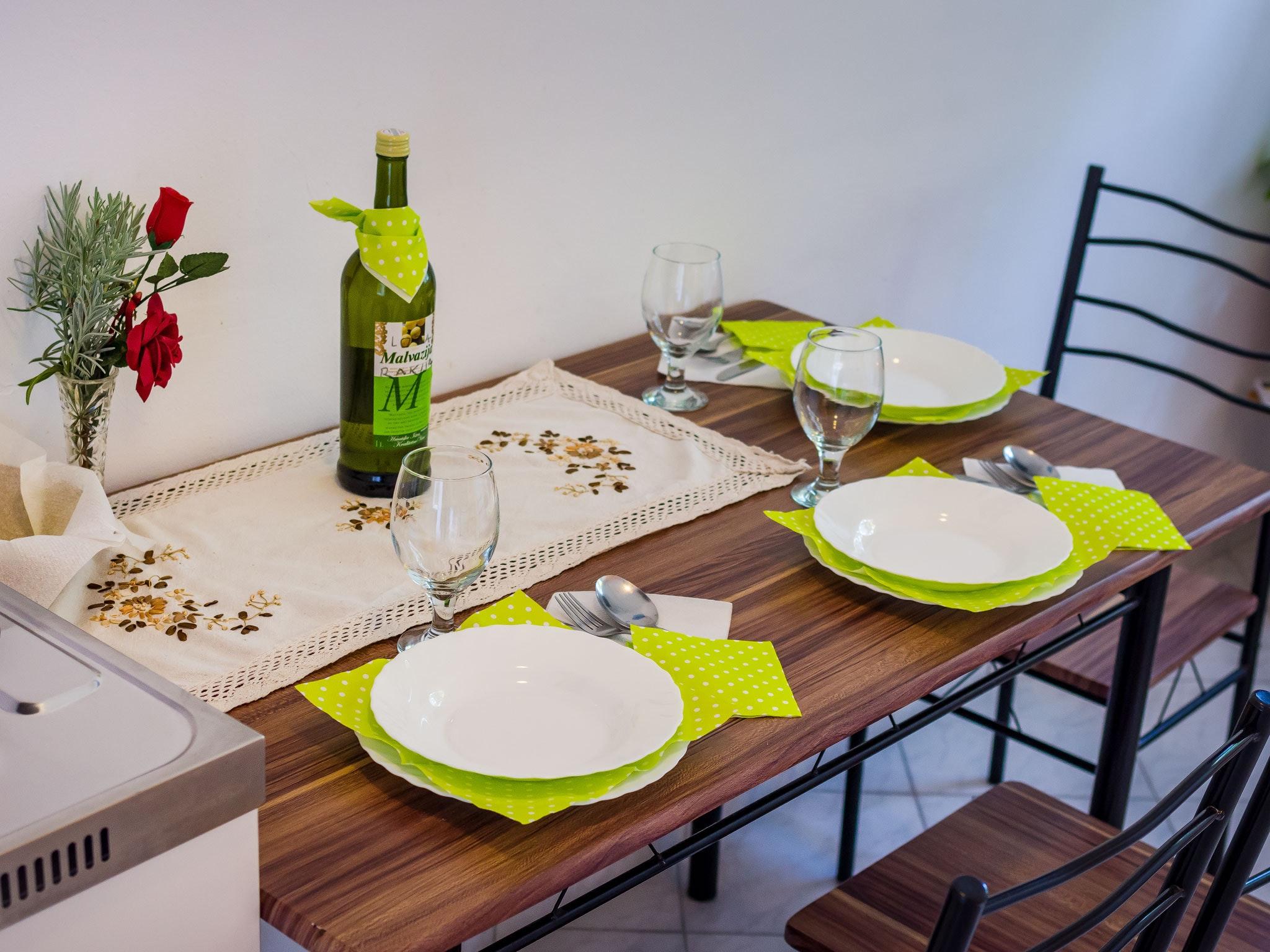 Holiday apartment Wohnung mit einem Zimmer in Zadar mit eingezäuntem Garten und W-LAN - 1 km vom Strand entf (2201234), Zadar, , Dalmatia, Croatia, picture 8