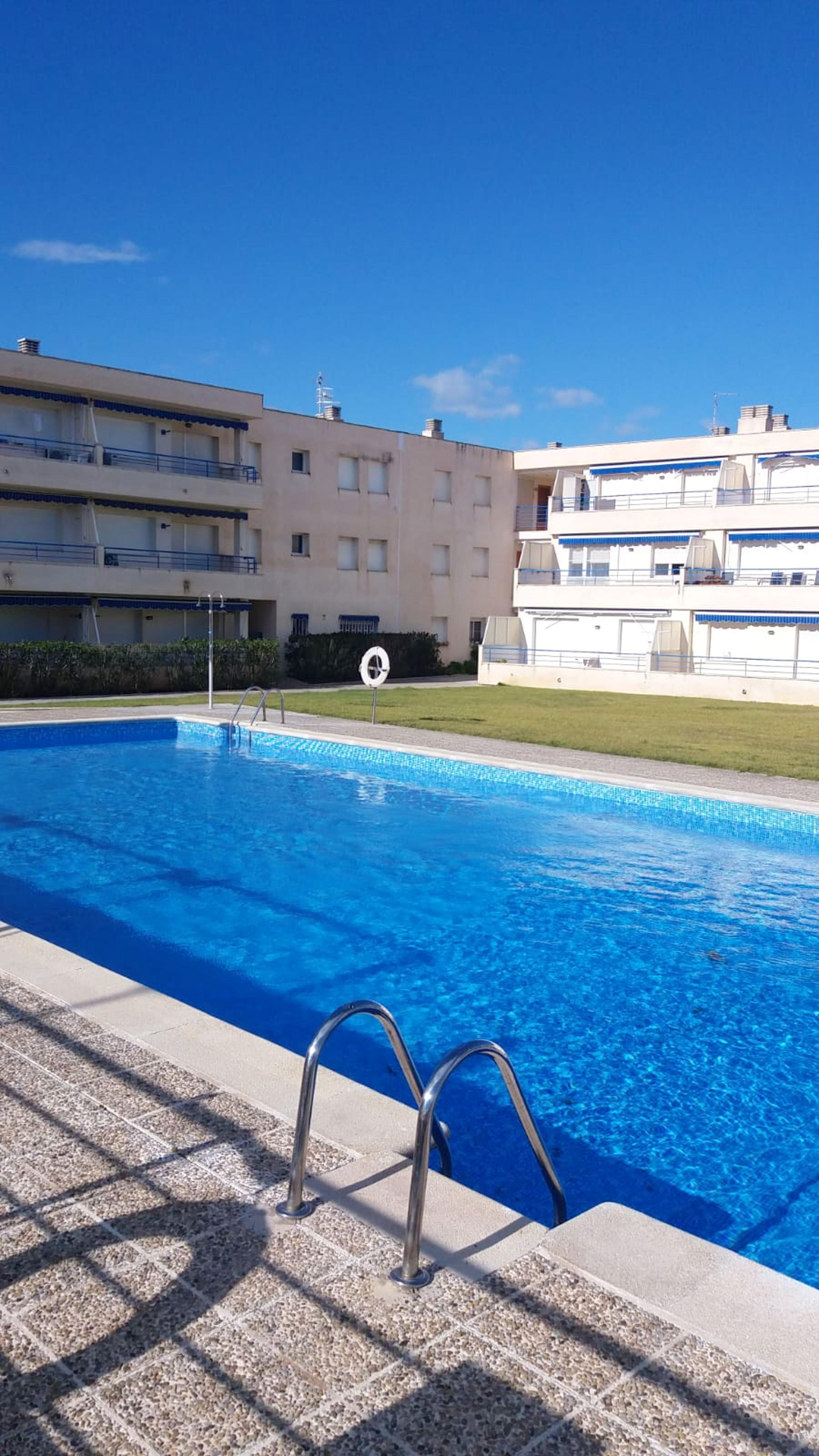 Ferienwohnung Wohnung mit einem Schlafzimmer in L'Eucaliptus mit herrlichem Meerblick, Pool und möbliert (2616465), L'Eucaliptus, Tarragona, Katalonien, Spanien, Bild 1