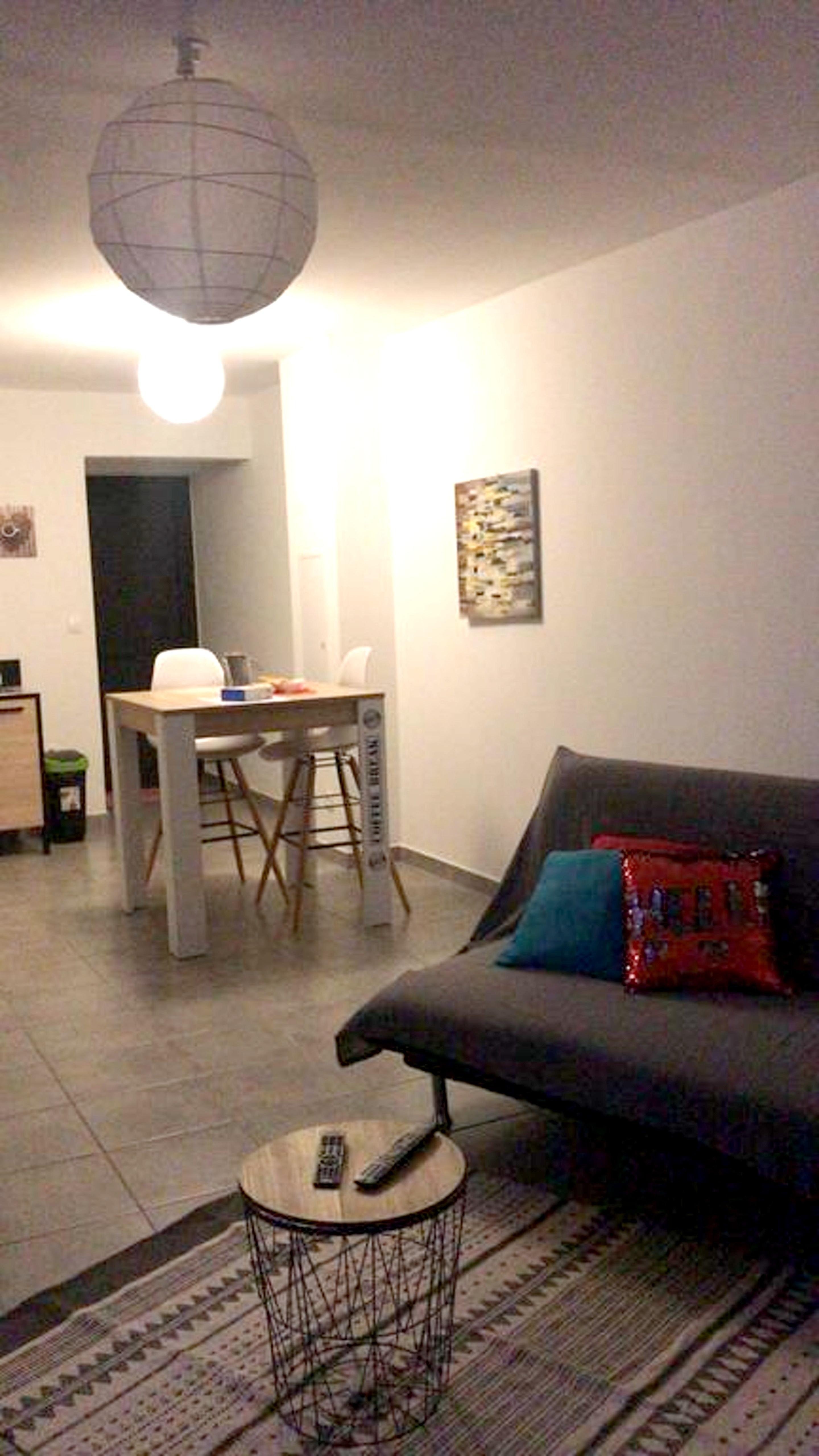 Wohnung mit einem Schlafzimmer in Saint-Leu mit he Ferienwohnung in Reunion