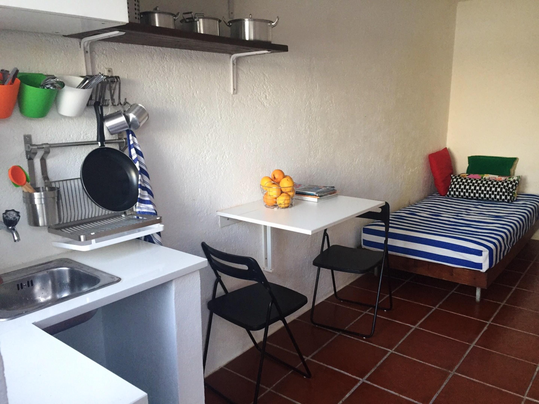 Bungalow mit einem Schlafzimmer in Tomar mit bezau Hütte
