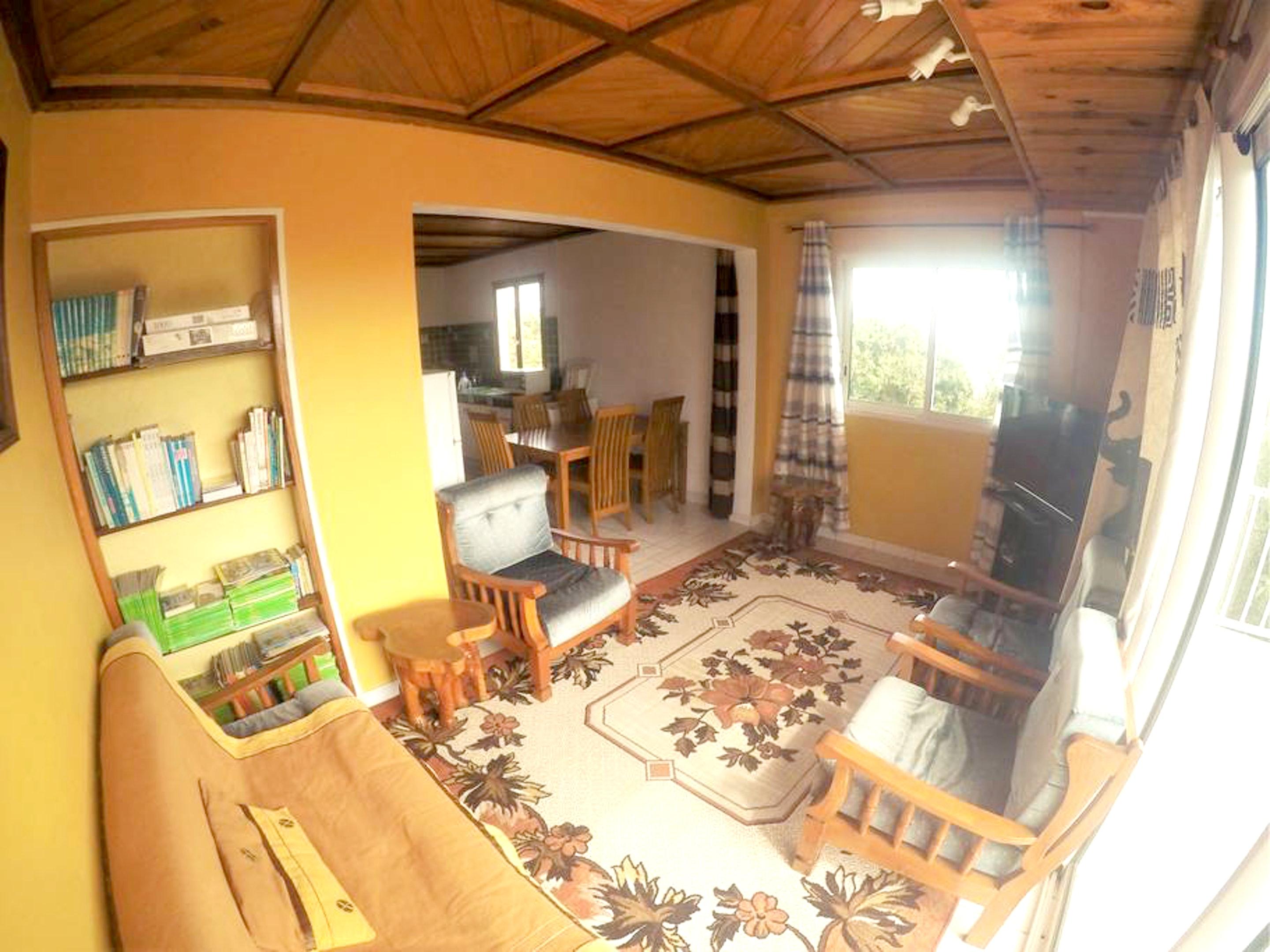 Wohnung mit 3 Schlafzimmern in Le Tampon mit herrl Ferienwohnung in Afrika
