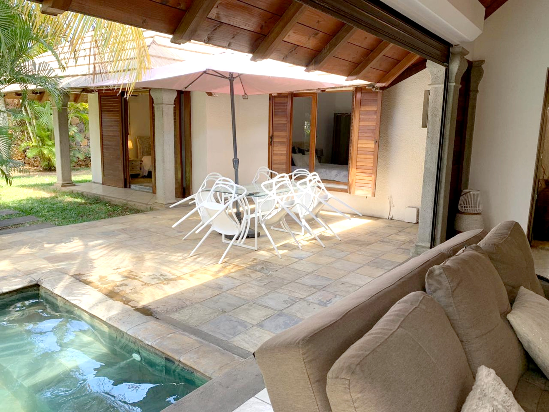 Villa mit 2 Schlafzimmern in Grand Baie mit privat Villa in Afrika