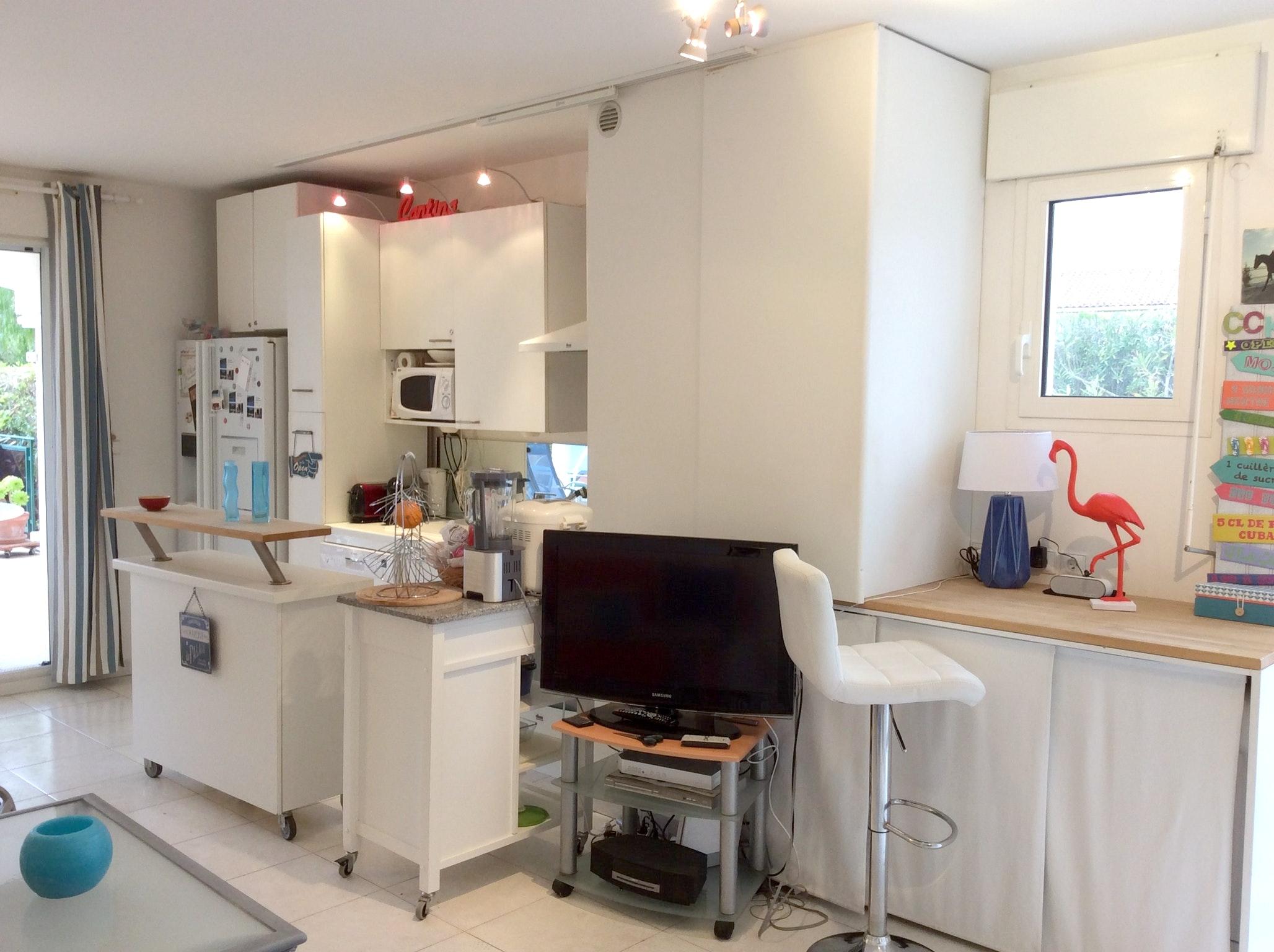 Appartement de vacances Wohnung mit einem Schlafzimmer in Carqueiranne mit Pool, eingezäuntem Garten und W-LAN - 7 (2231381), Carqueiranne, Côte d'Azur, Provence - Alpes - Côte d'Azur, France, image 11
