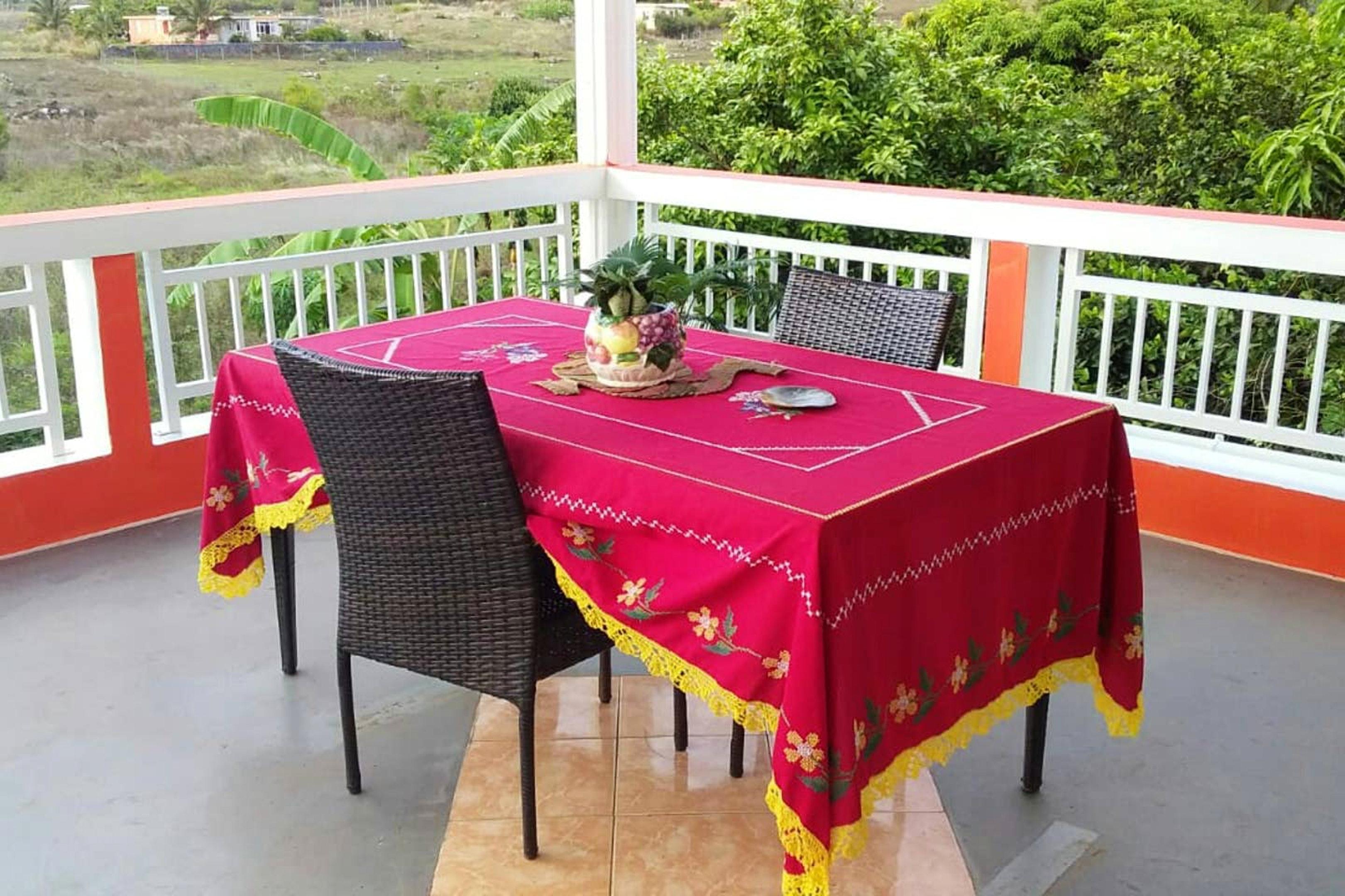 Haus mit 3 Schlafzimmern in Anse quitor  mit herrl Ferienhaus in Afrika