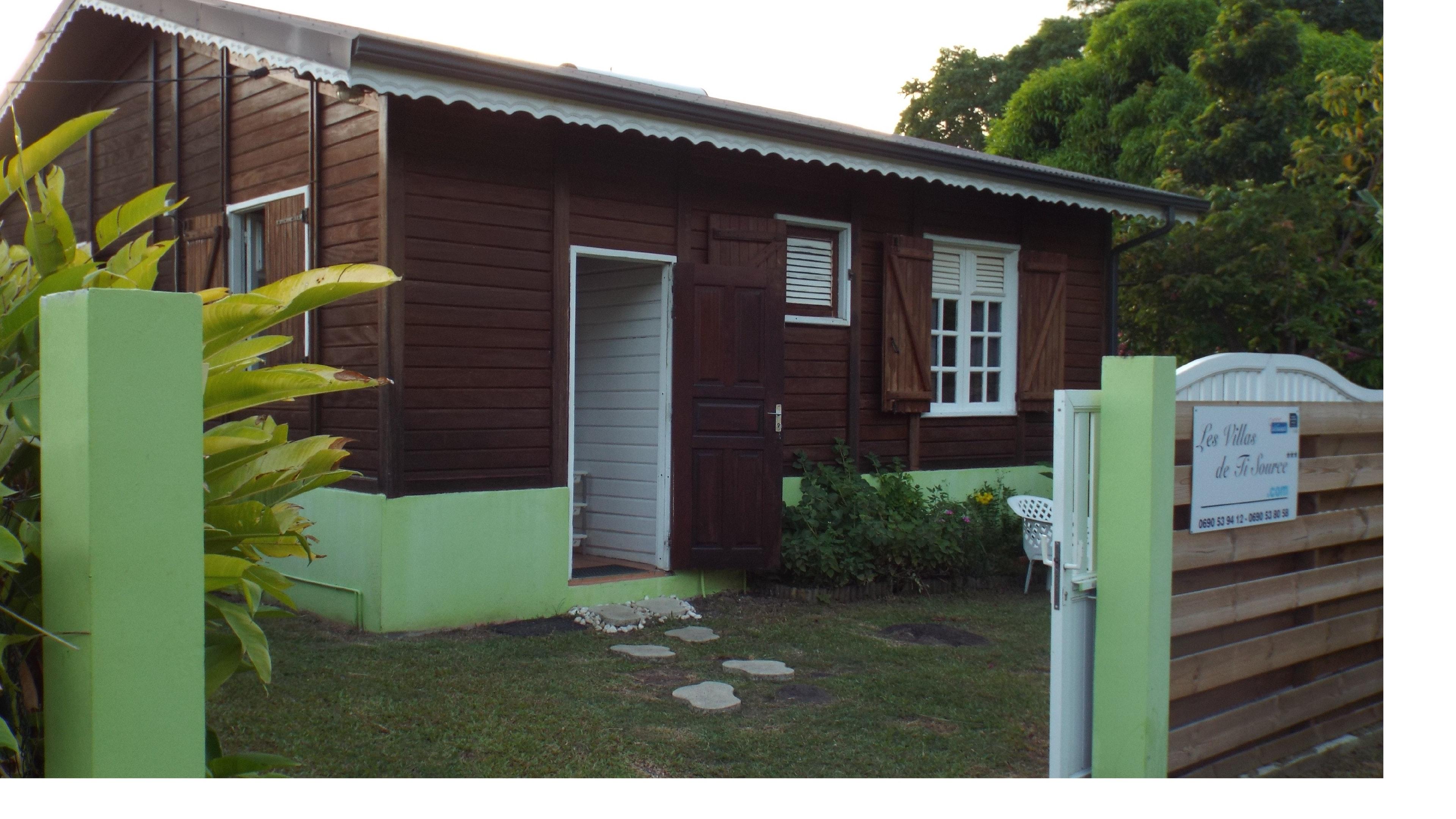 Villa mit 2 Schlafzimmern in Pointe noire mit herr Villa in Guadeloupe