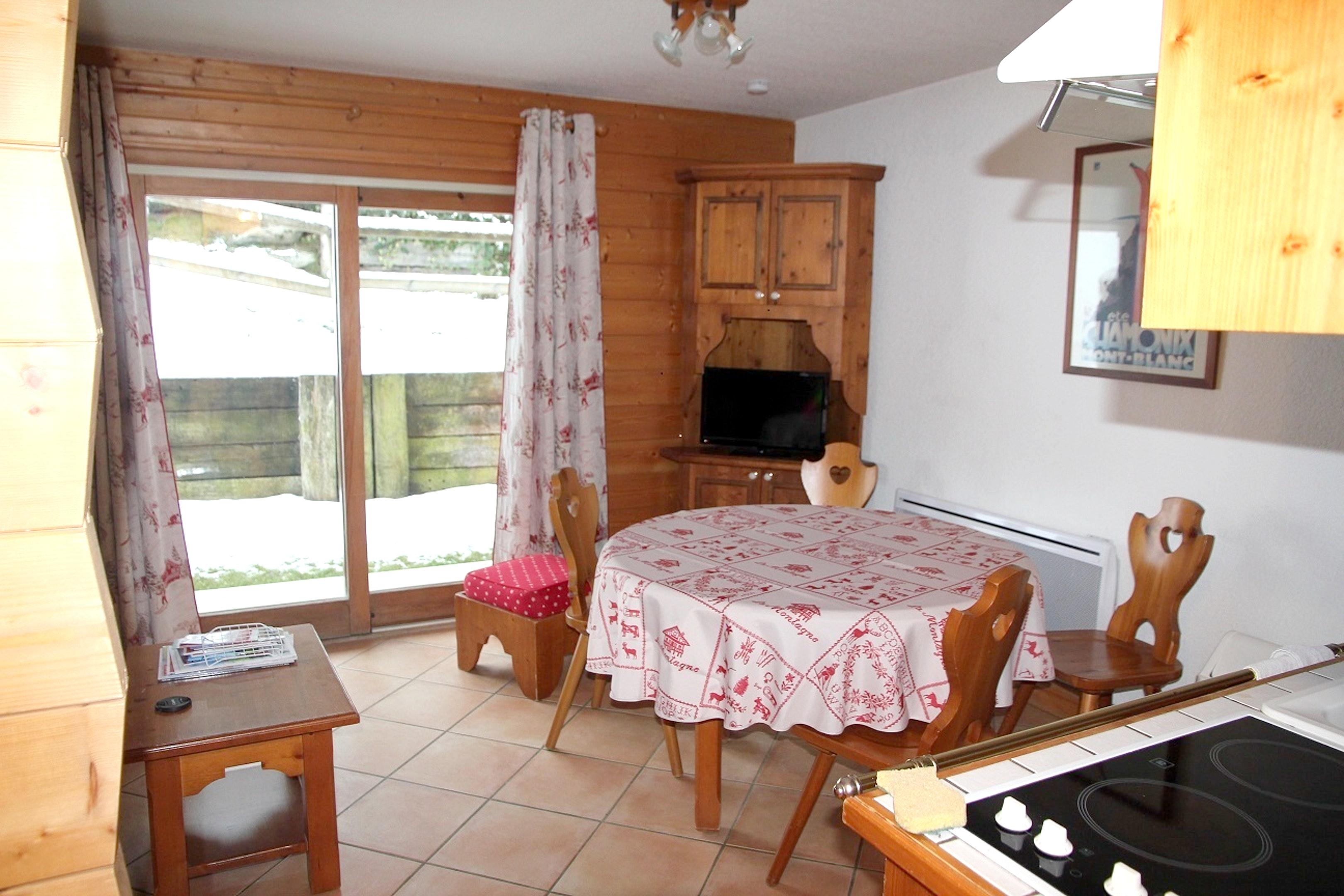 Ferienwohnung Wohnung mit einem Schlafzimmer in Les Houches mit toller Aussicht auf die Berge, Pool und  (2591443), Les Houches, Hochsavoyen, Rhône-Alpen, Frankreich, Bild 4