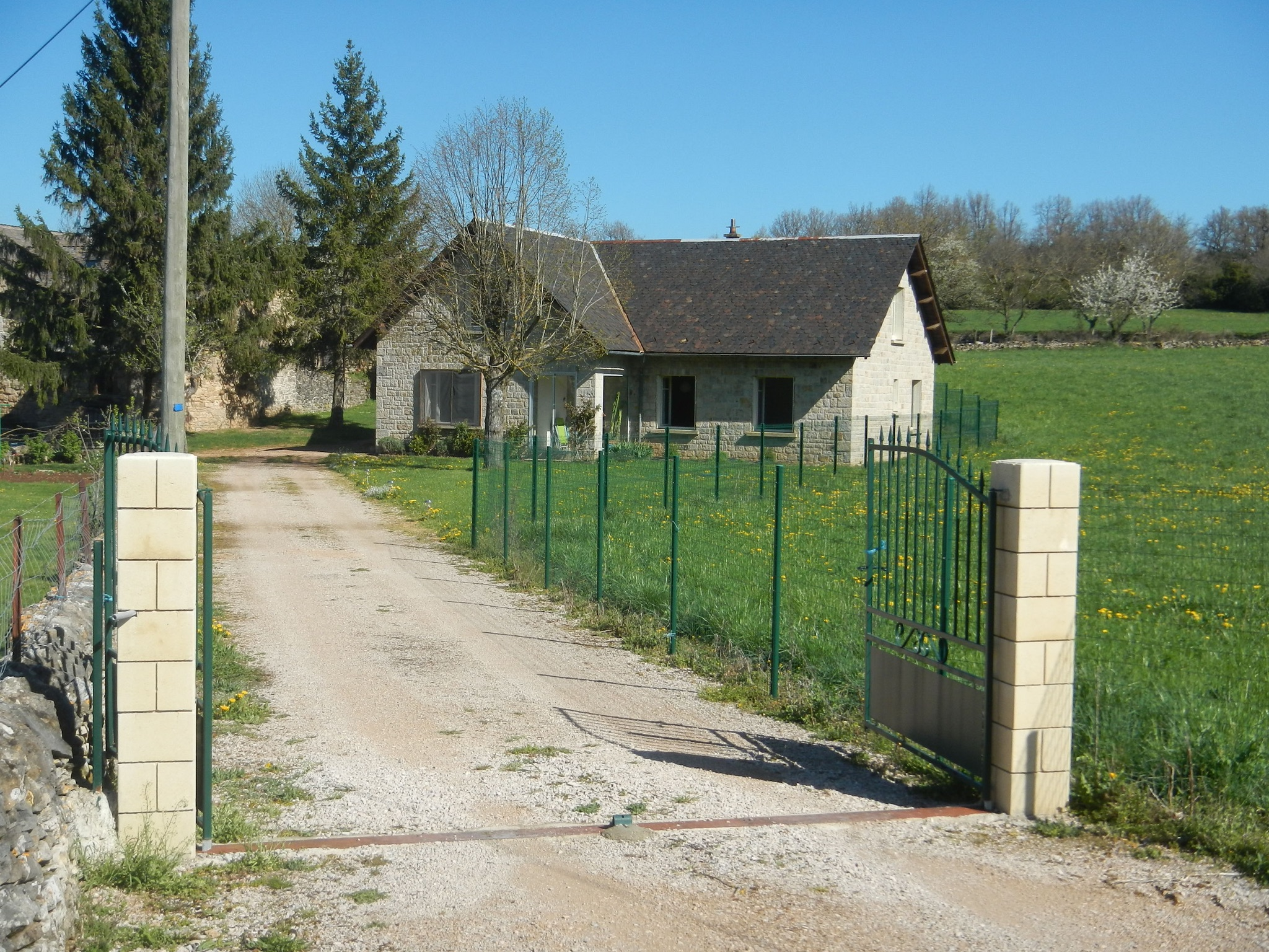 Ferienhaus Haus mit 6 Zimmern in Banassac mit toller Aussicht auf die Berge und eingezäuntem Garten - (2202056), Banassac, Lozère, Languedoc-Roussillon, Frankreich, Bild 3