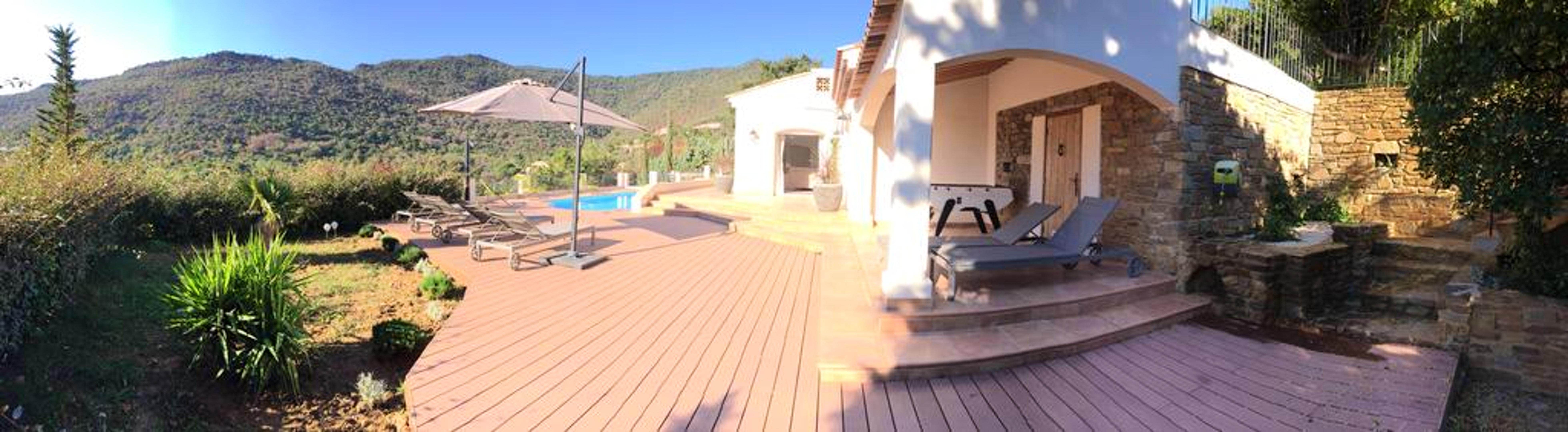 Maison de vacances Villa mit 5 Schlafzimmern in Rayol-Canadel-sur-Mer mit toller Aussicht auf die Berge, priv (2201555), Le Lavandou, Côte d'Azur, Provence - Alpes - Côte d'Azur, France, image 44