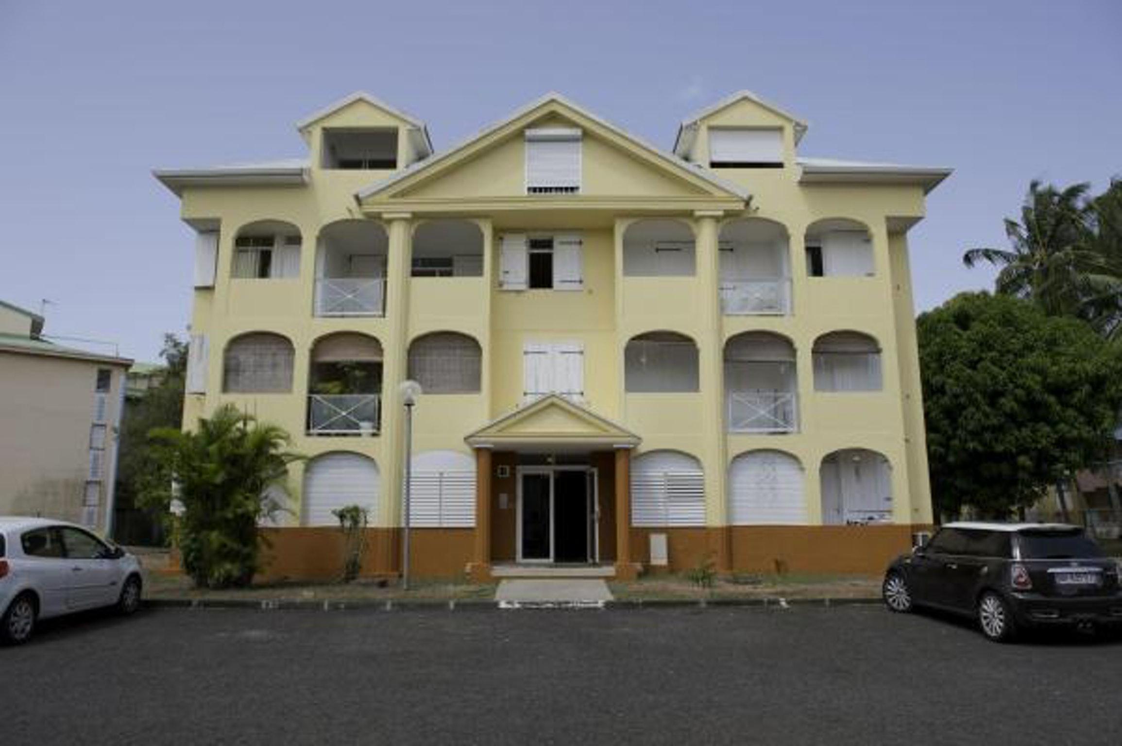 Wohnung mit einem Schlafzimmer in Le Gosier mit he Ferienwohnung in Guadeloupe
