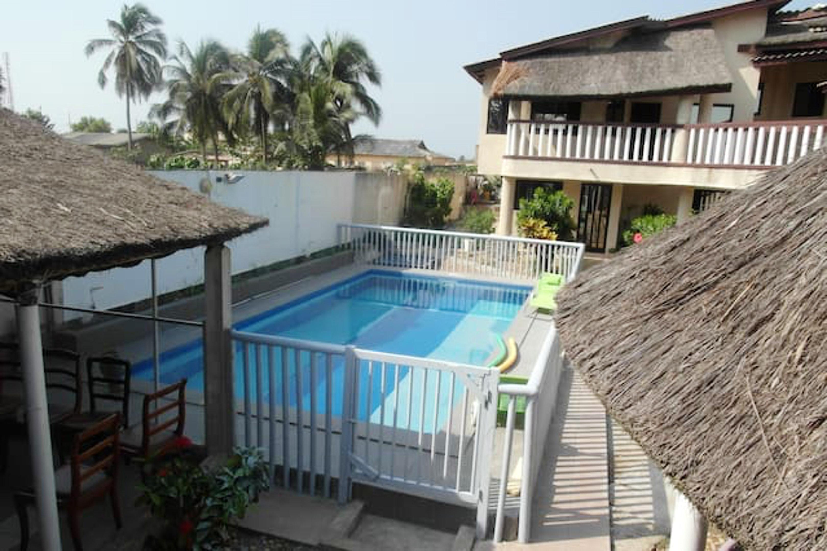 Estudio en Grand Popo, con piscina compartida y jardín cerrado - a 10 m de la playa