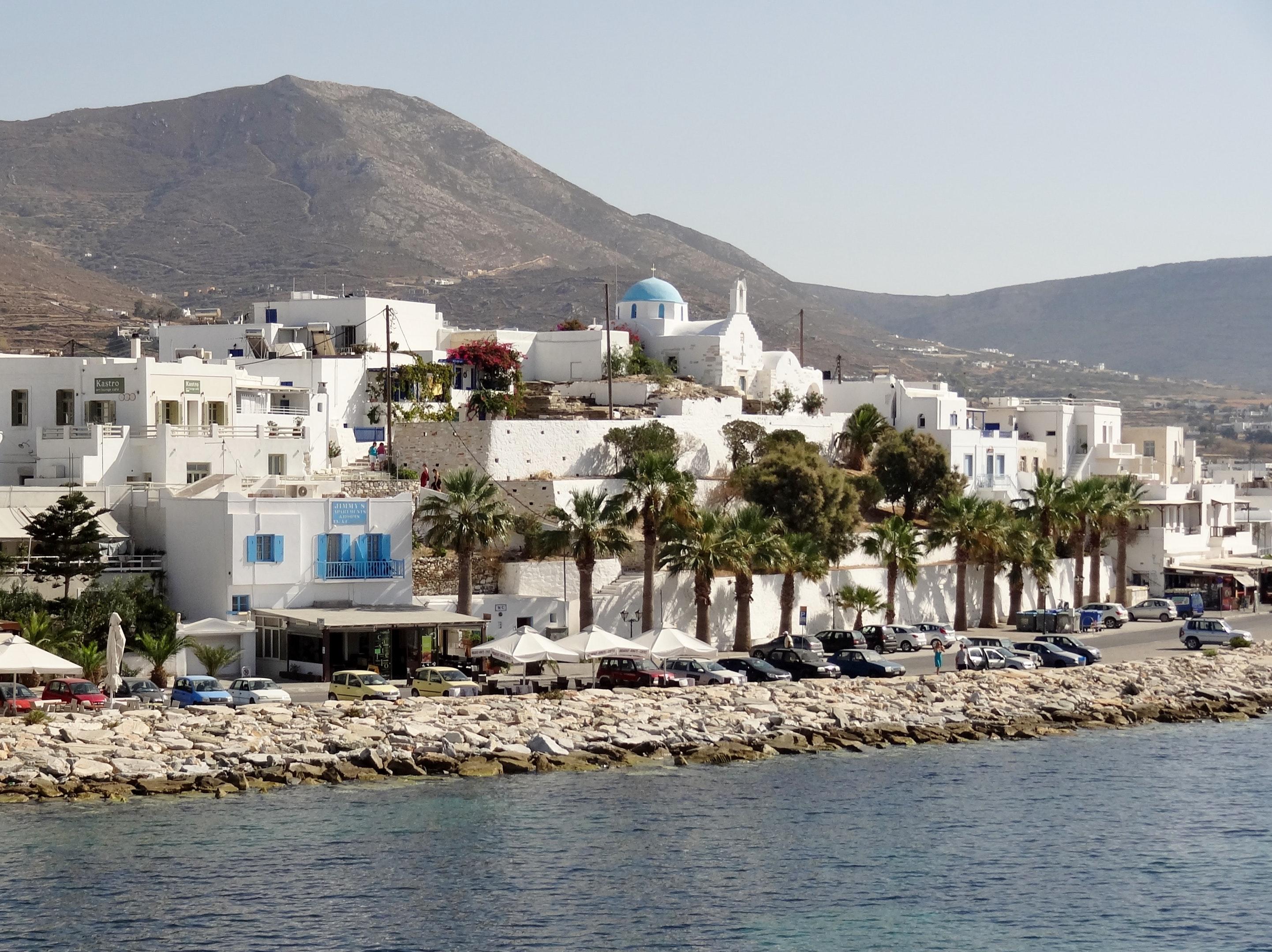 Holiday house Villa mit 3 Schlafzimmern in Paros mit herrlichem Meerblick, Pool und W-LAN - 1 km vom Str (2201537), Paros, Paros, Cyclades, Greece, picture 16