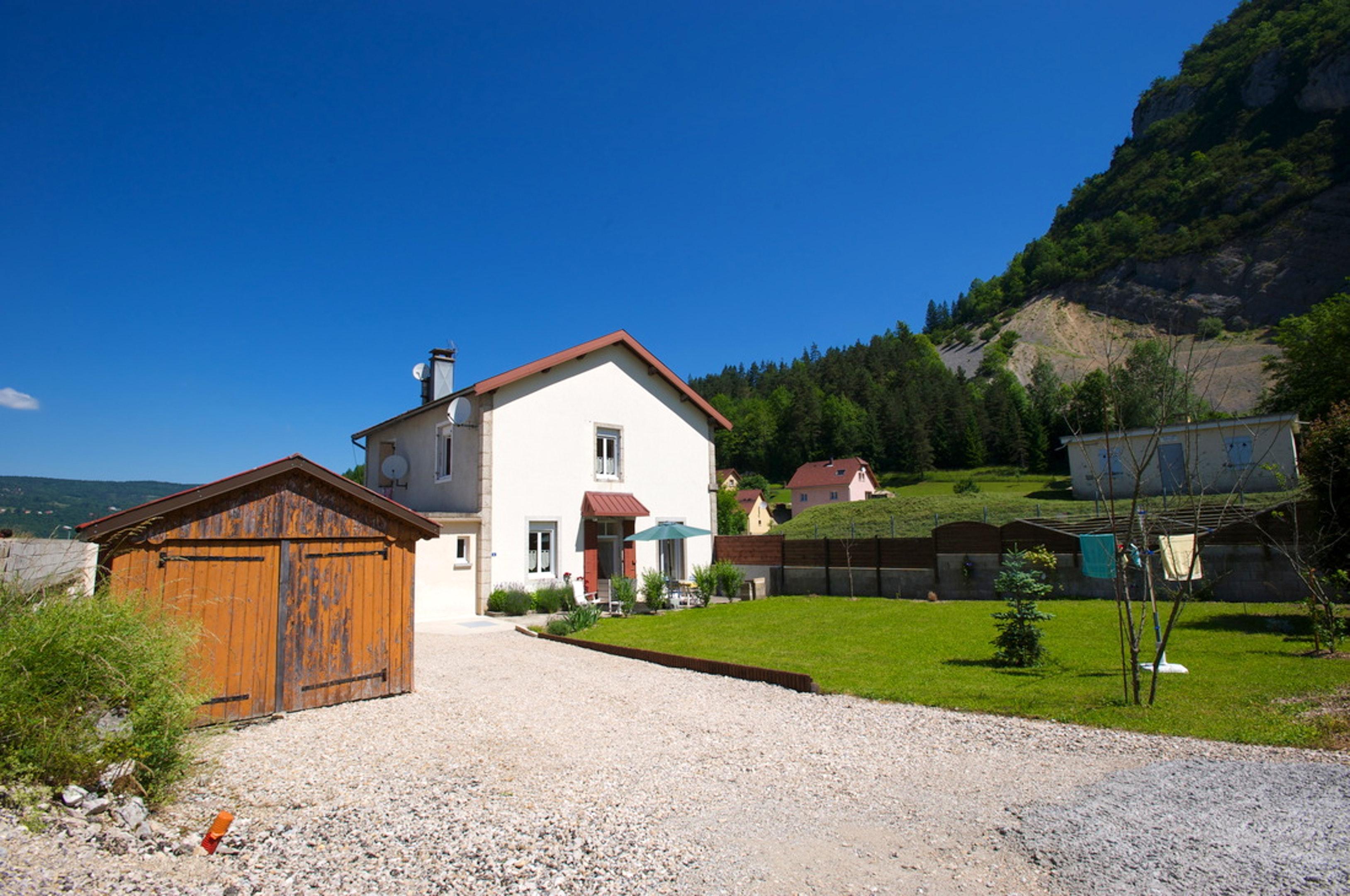 Maison de vacances Haus mit 2 Schlafzimmern in Villard-Saint-Sauveur mit toller Aussicht auf die Berge und ei (2704040), Villard sur Bienne, Jura, Franche-Comté, France, image 2