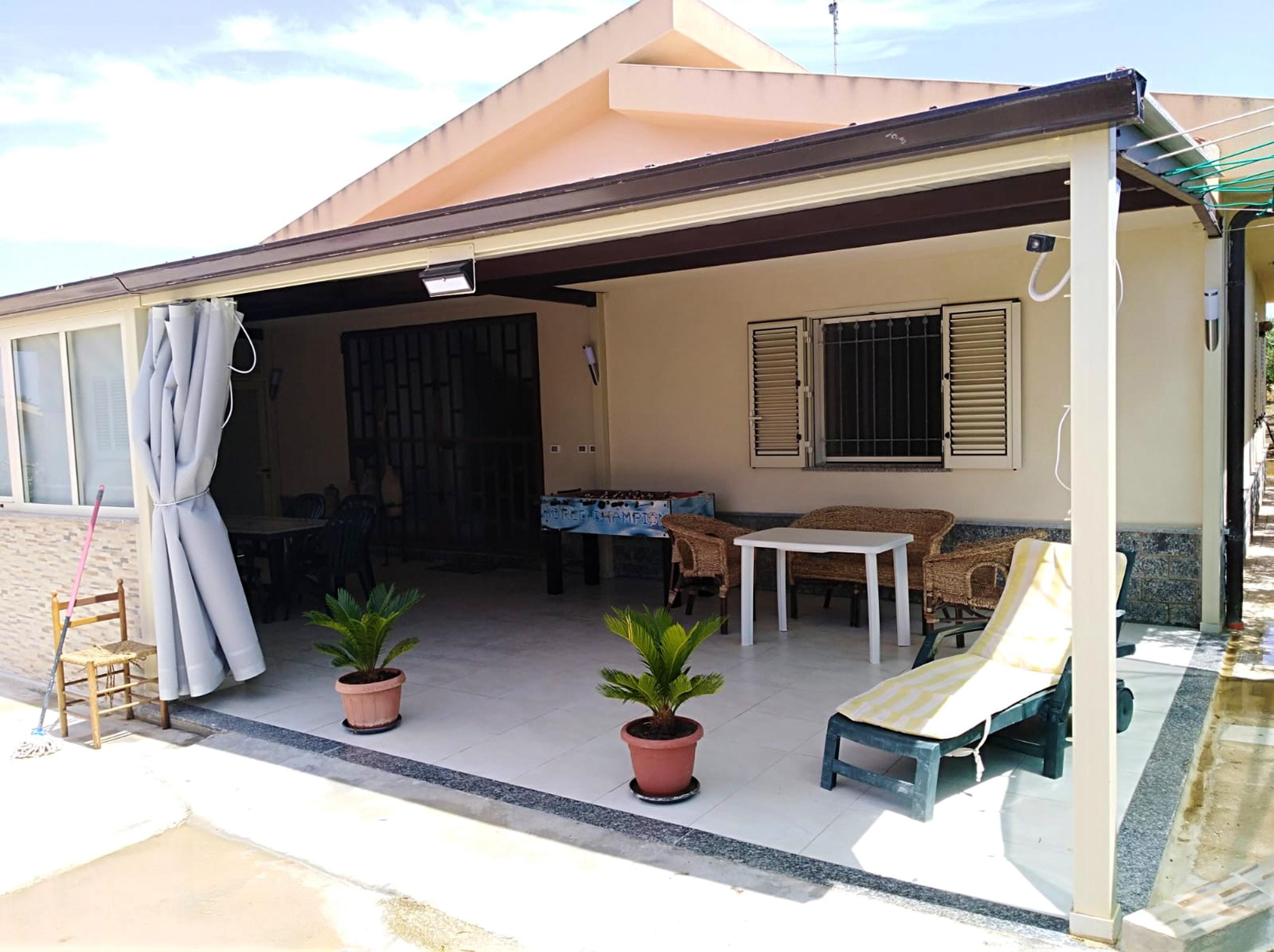 Maison de vacances Haus mit 3 Schlafzimmern in Menfi mit herrlichem Meerblick und eingezäuntem Garten - 1 km  (2707873), Menfi, Agrigento, Sicile, Italie, image 1