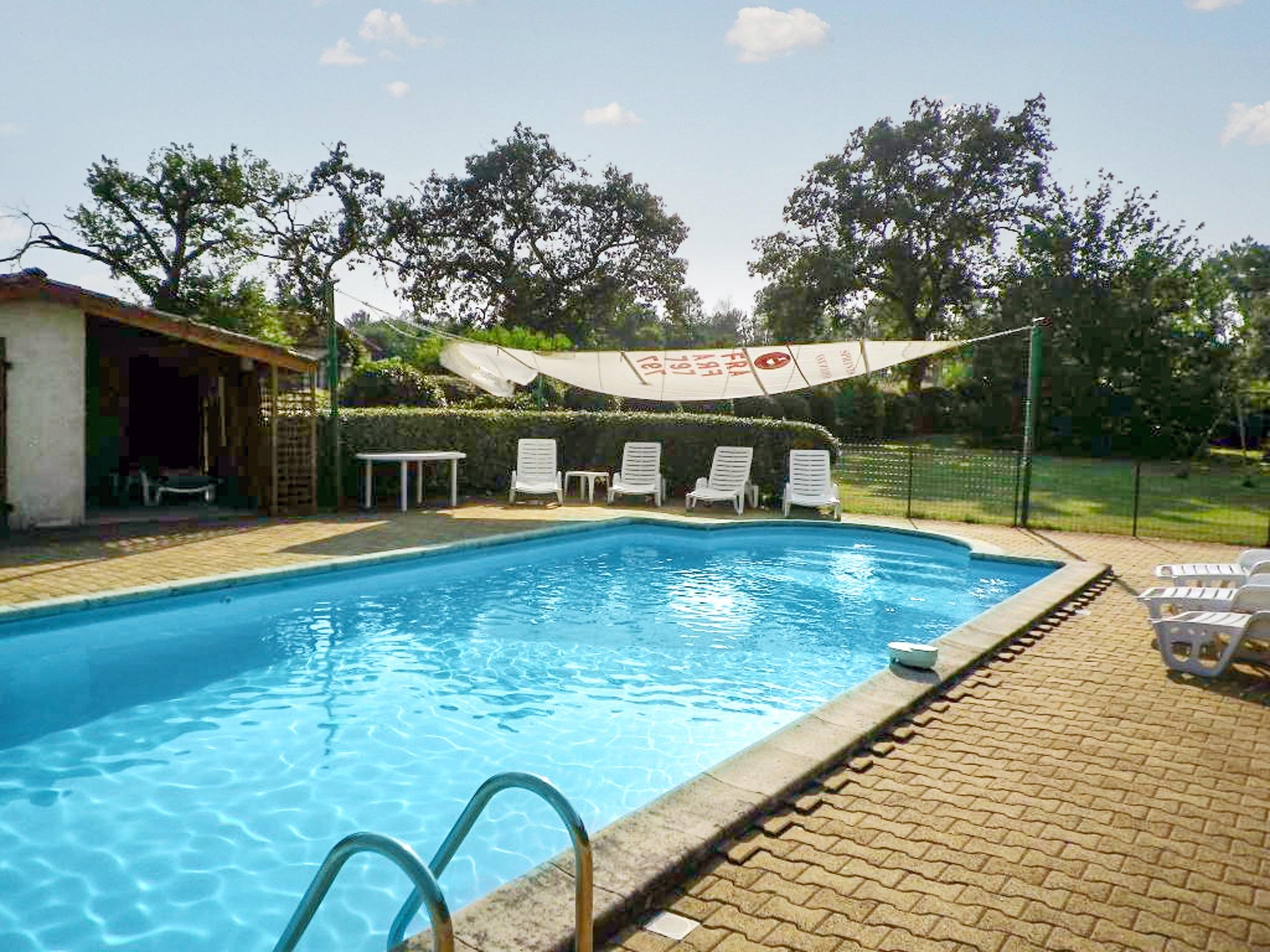 Ferienhaus Villa mit 4 Zimmern in Trensacq mit privatem Pool und möbliertem Garten - 45 km vom Strand (2202366), Trensacq, Landes, Aquitanien, Frankreich, Bild 25