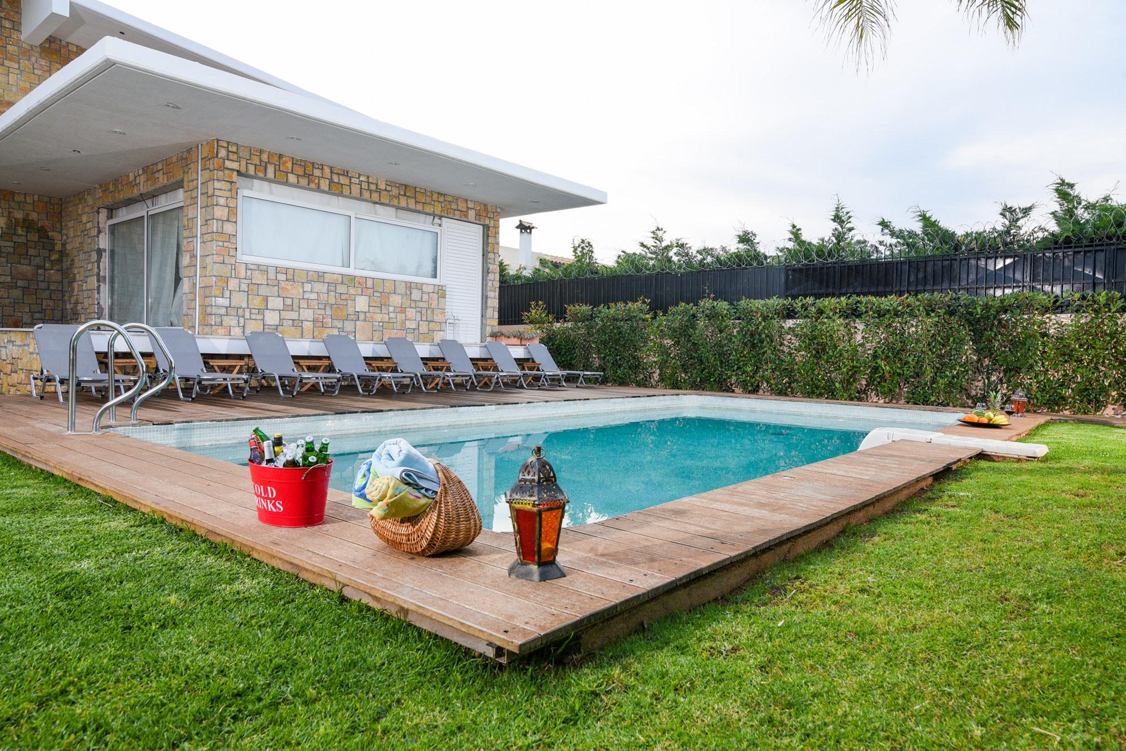 Holiday house Villa mit 5 Schlafzimmern in Kitsi mit privatem Pool, eingezäuntem Garten und W-LAN (2339398), Koropion, , Attica, Greece, picture 3