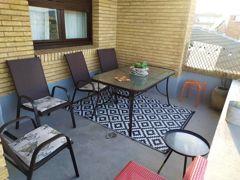 Ferienwohnung Wohnung mit 2 Schlafzimmern in Tudela mit schöner Aussicht auf die Stadt, möblierter Terra (2708241), Tudela, , Navarra, Spanien, Bild 4