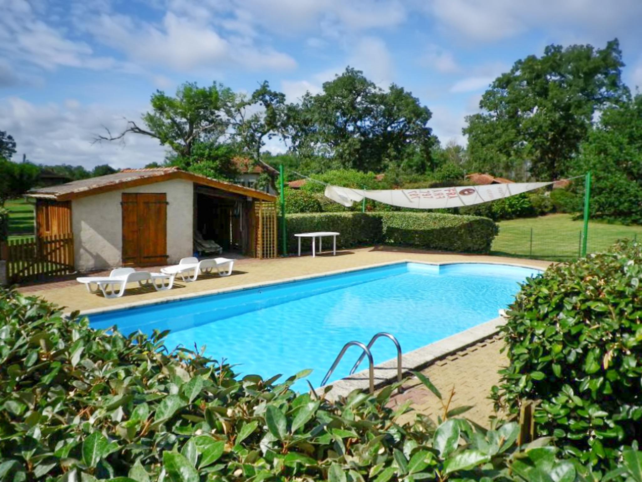 Ferienhaus Villa mit 4 Zimmern in Trensacq mit privatem Pool und möbliertem Garten - 45 km vom Strand (2202366), Trensacq, Landes, Aquitanien, Frankreich, Bild 2