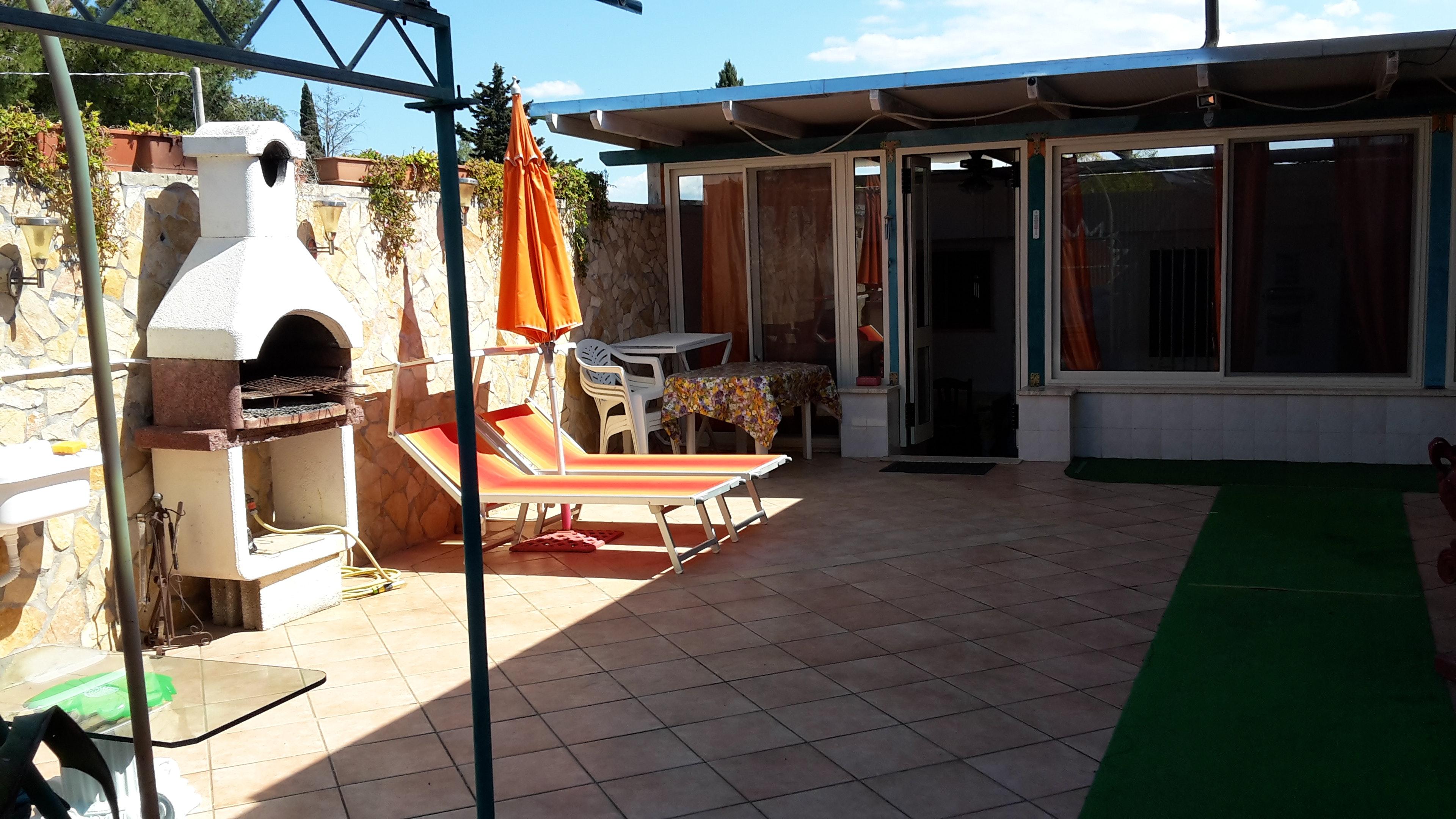 Ferienhaus Haus mit 2 Schlafzimmern in Porto Cesareo (Lecce) mit Pool, möbliertem Garten und W-LAN (2201032), Porto Cesareo, Lecce, Apulien, Italien, Bild 7