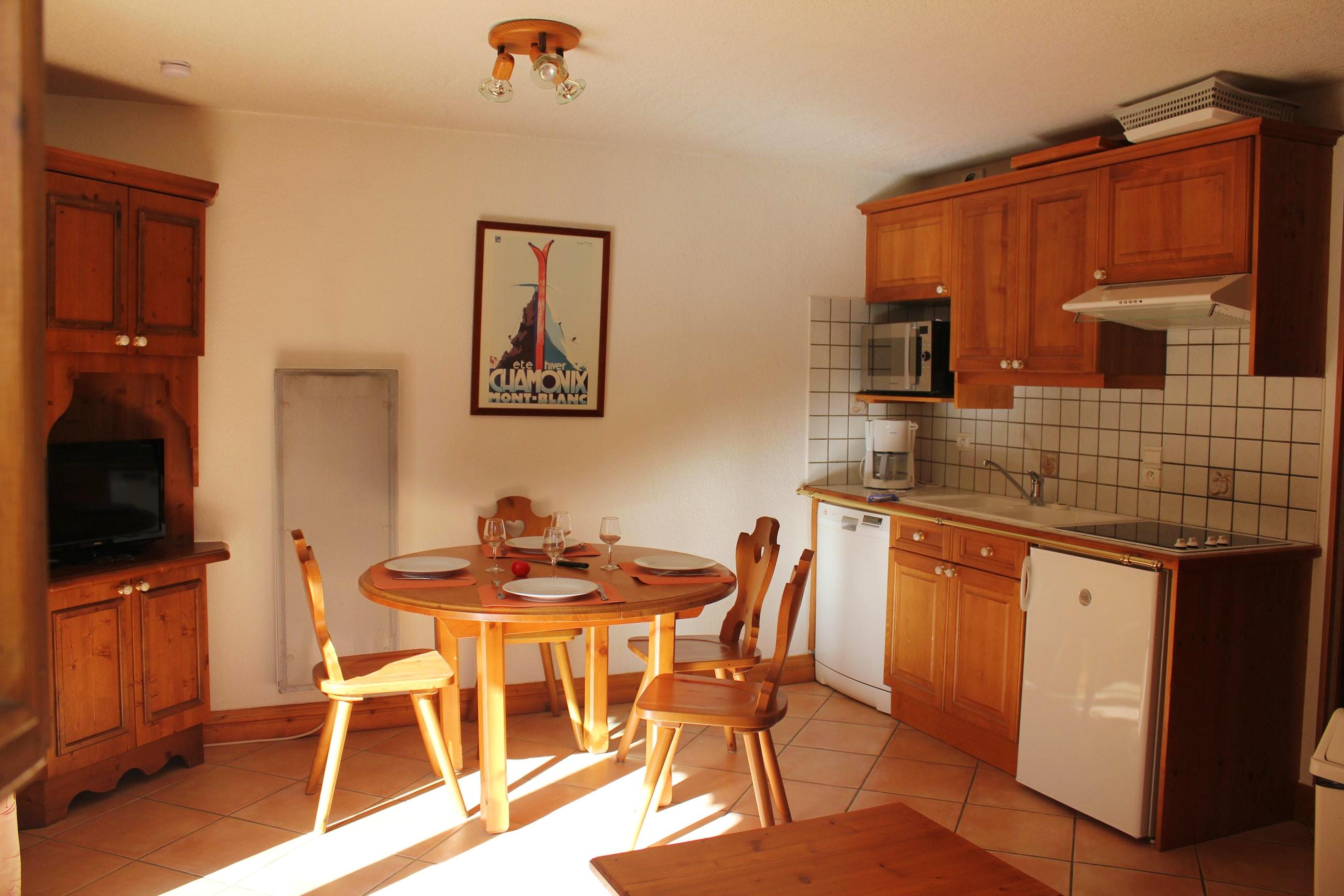 Ferienwohnung Wohnung mit einem Schlafzimmer in Les Houches mit toller Aussicht auf die Berge, Pool und  (2591443), Les Houches, Hochsavoyen, Rhône-Alpen, Frankreich, Bild 7