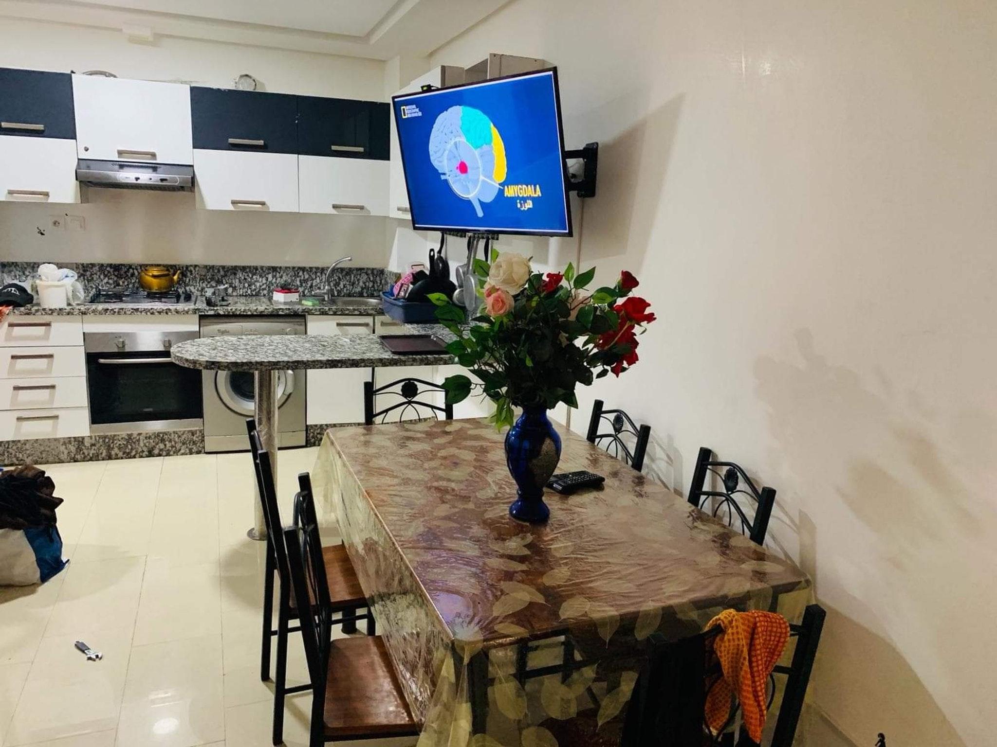 Wohnung mit einem Schlafzimmer in El Jadida mit Po Ferienwohnung in Afrika
