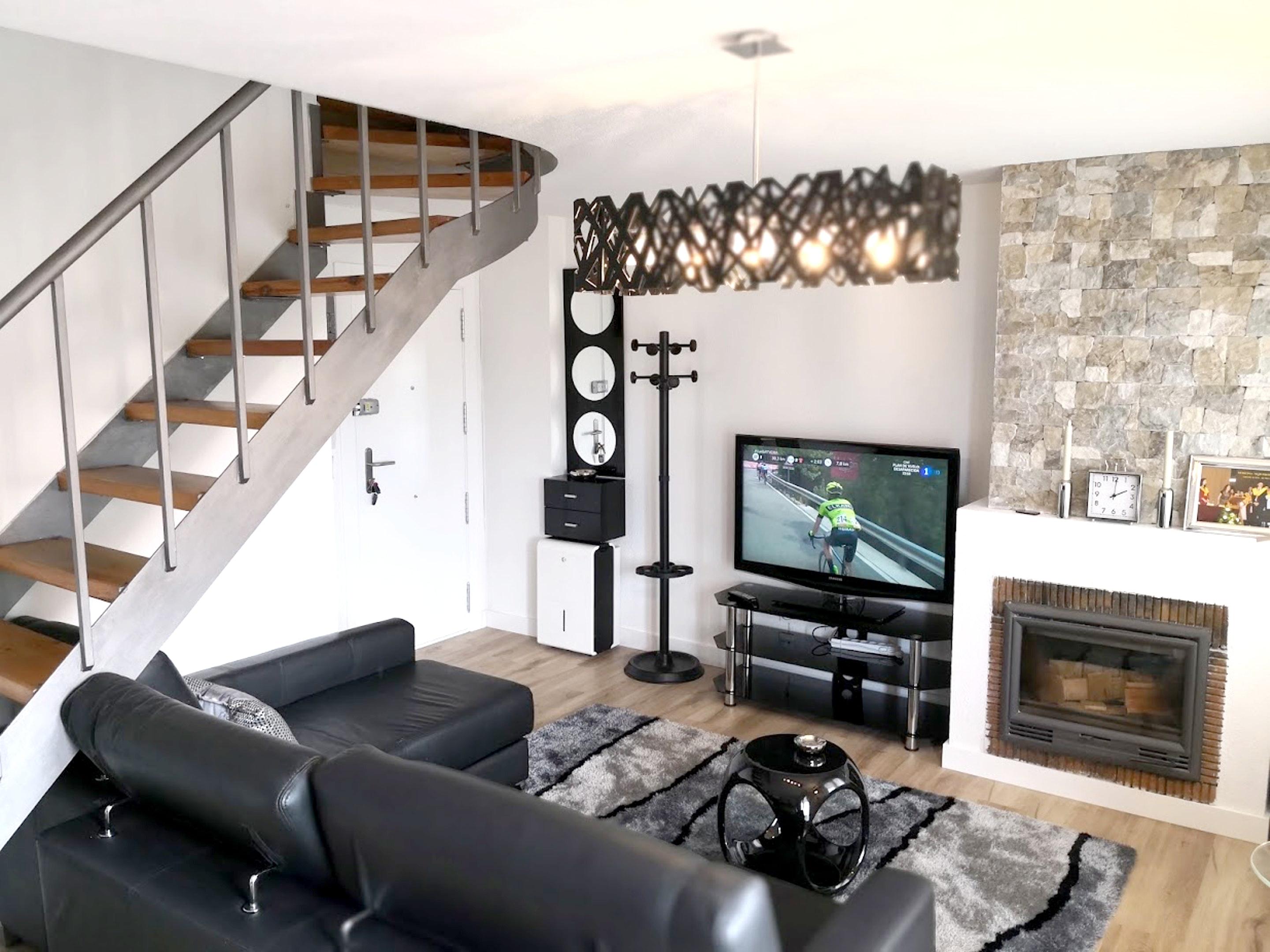 Wohnung mit 2 Schlafzimmern in Mogro mit herrliche